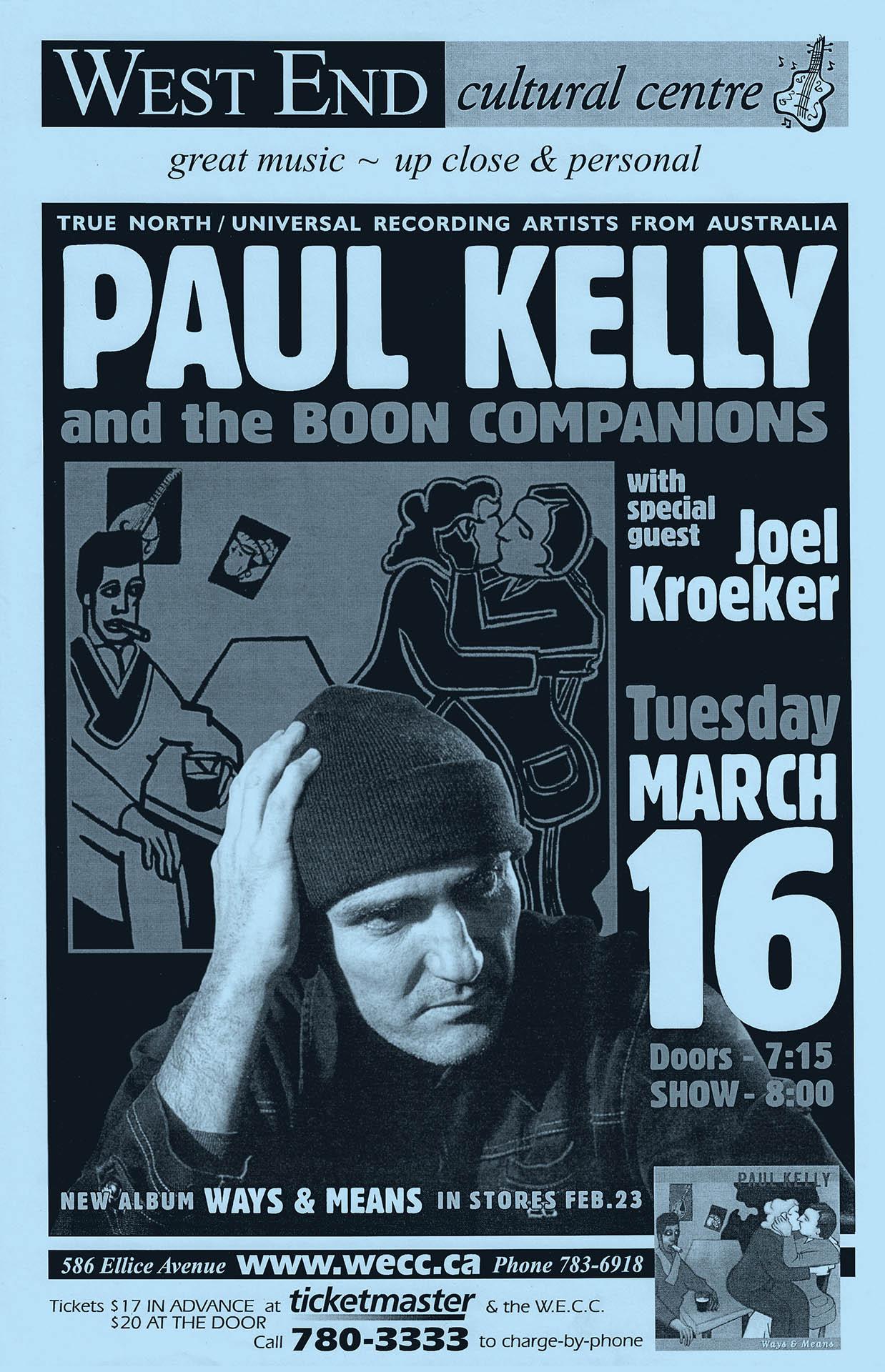 Paul Kelly – 2004