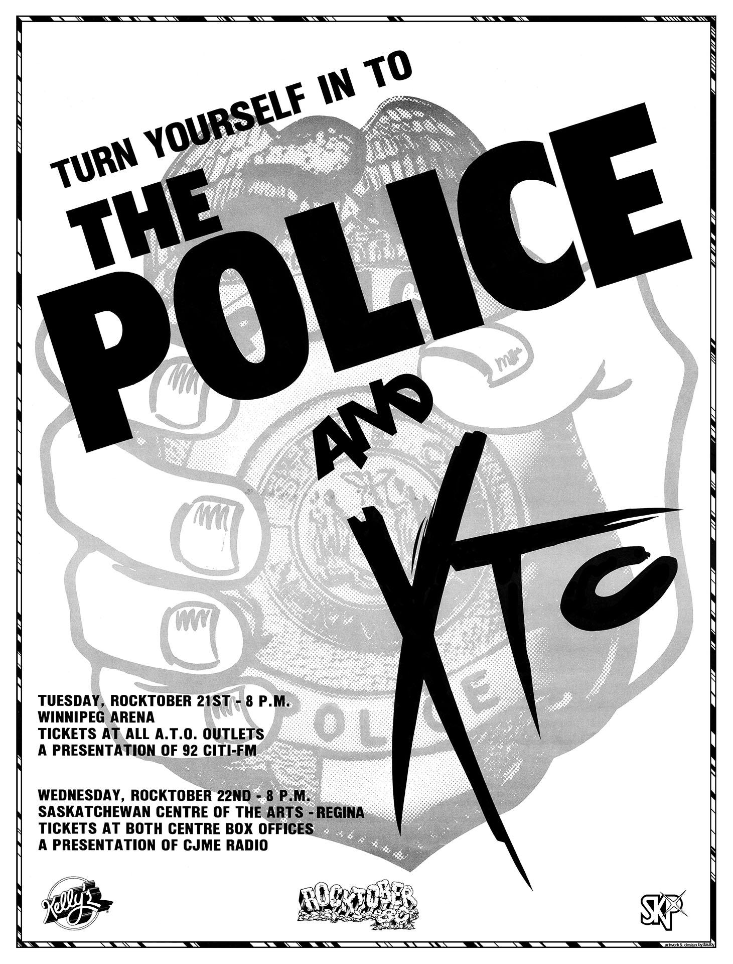THE POLICE w/ XTC – 1980