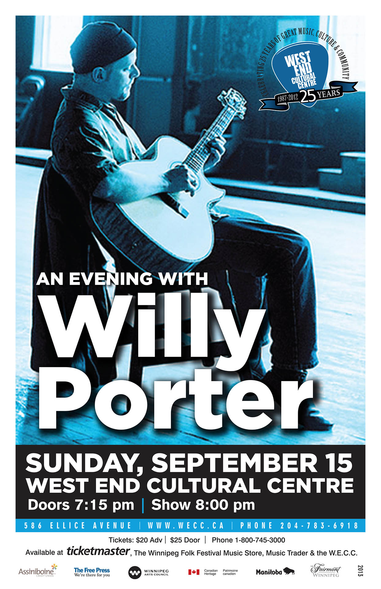 WILLY PORTER – 2013
