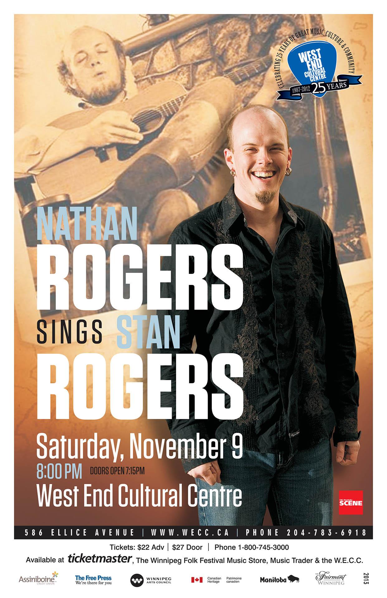 NATHAN ROGERS – 2013