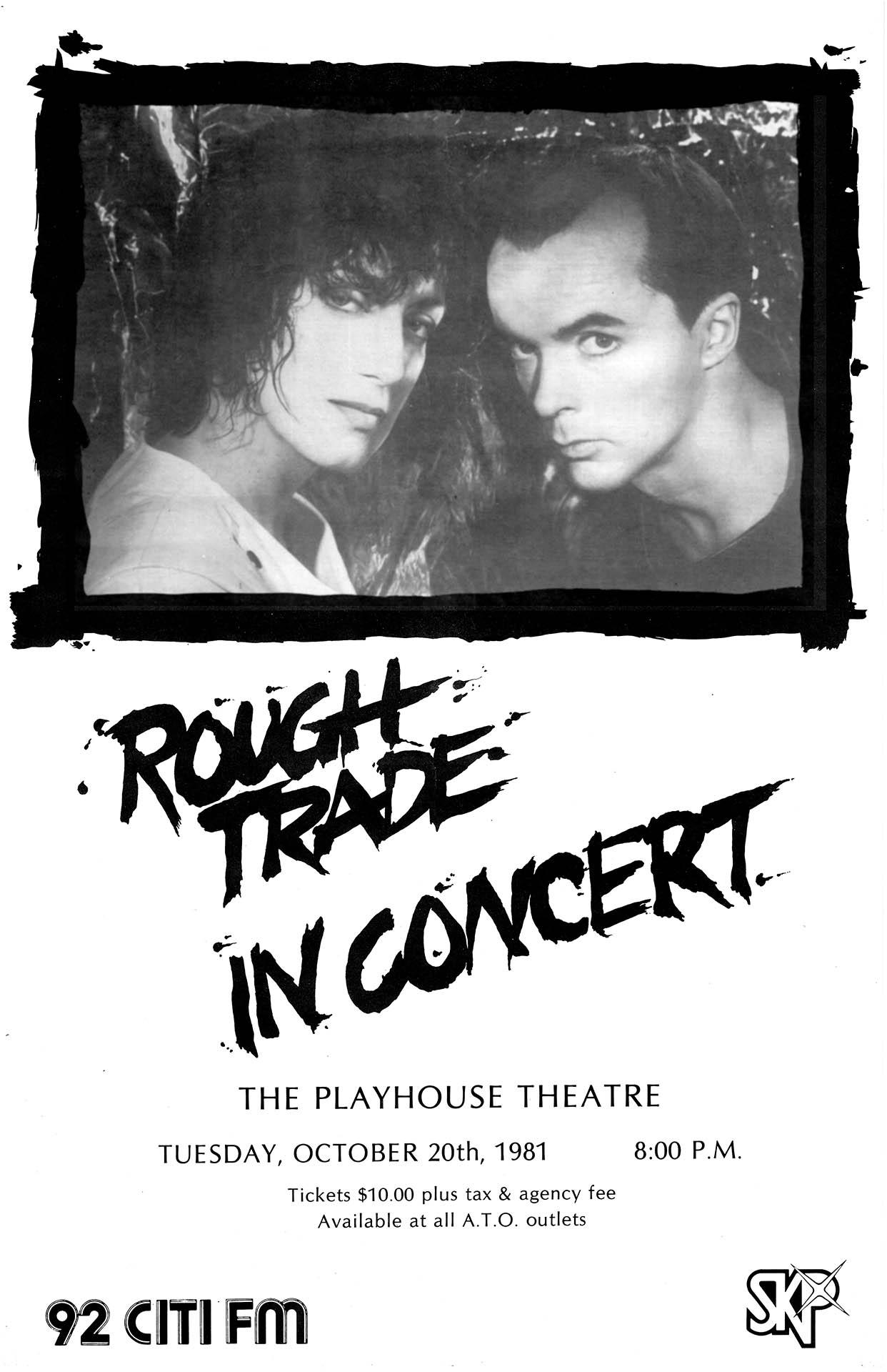 ROUGH TRADE – 1981