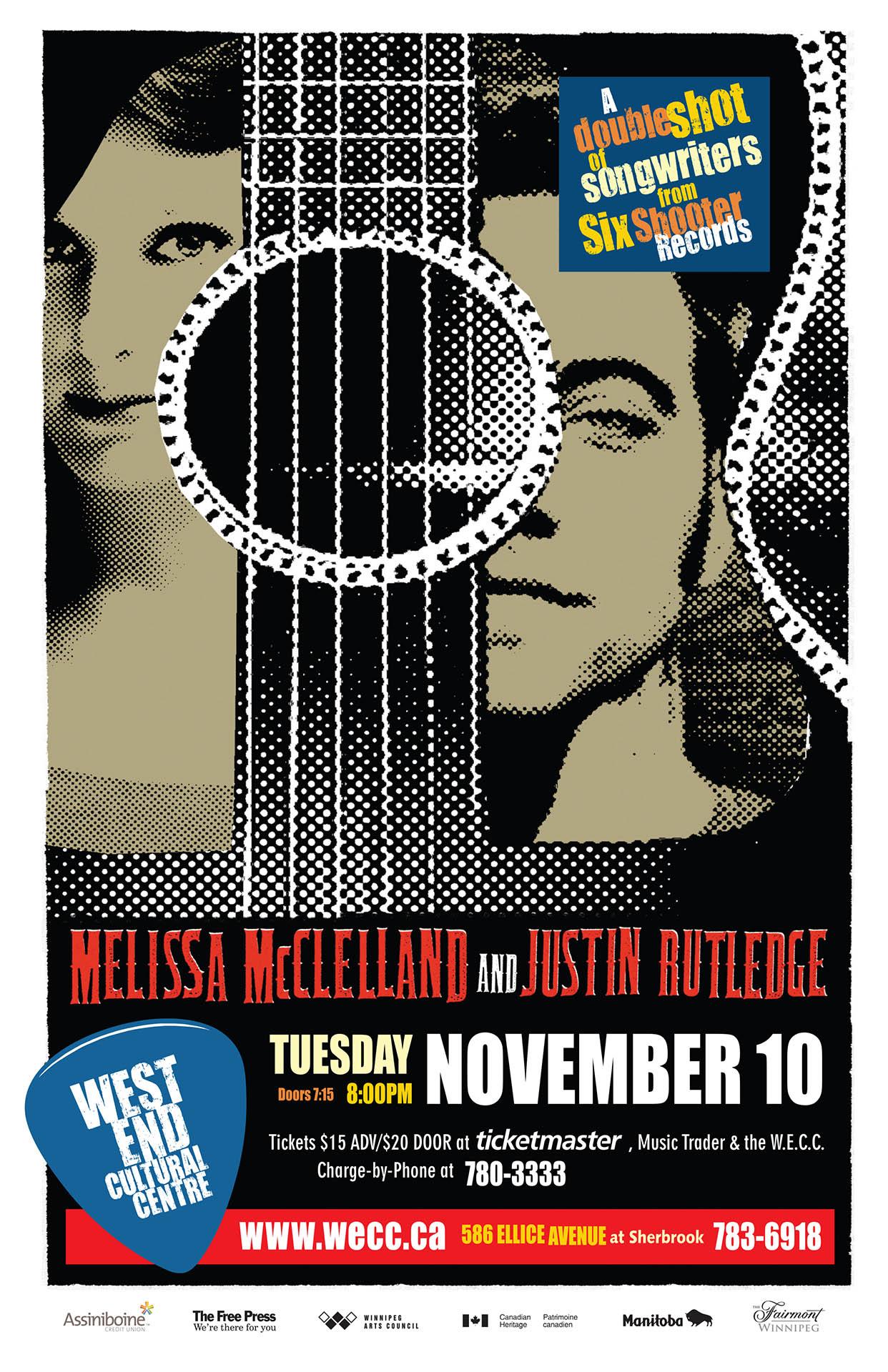 MELISSA MCLELLAND & JUSTIN RUTLEDGE – 2009