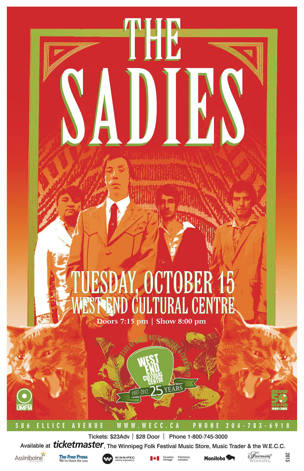 THE SADIES – 2013