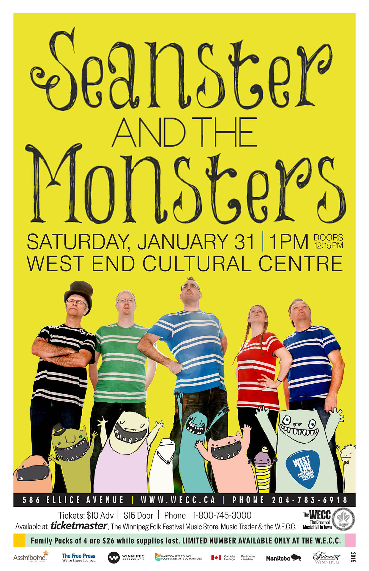 Seanster And The Monsters - 2014