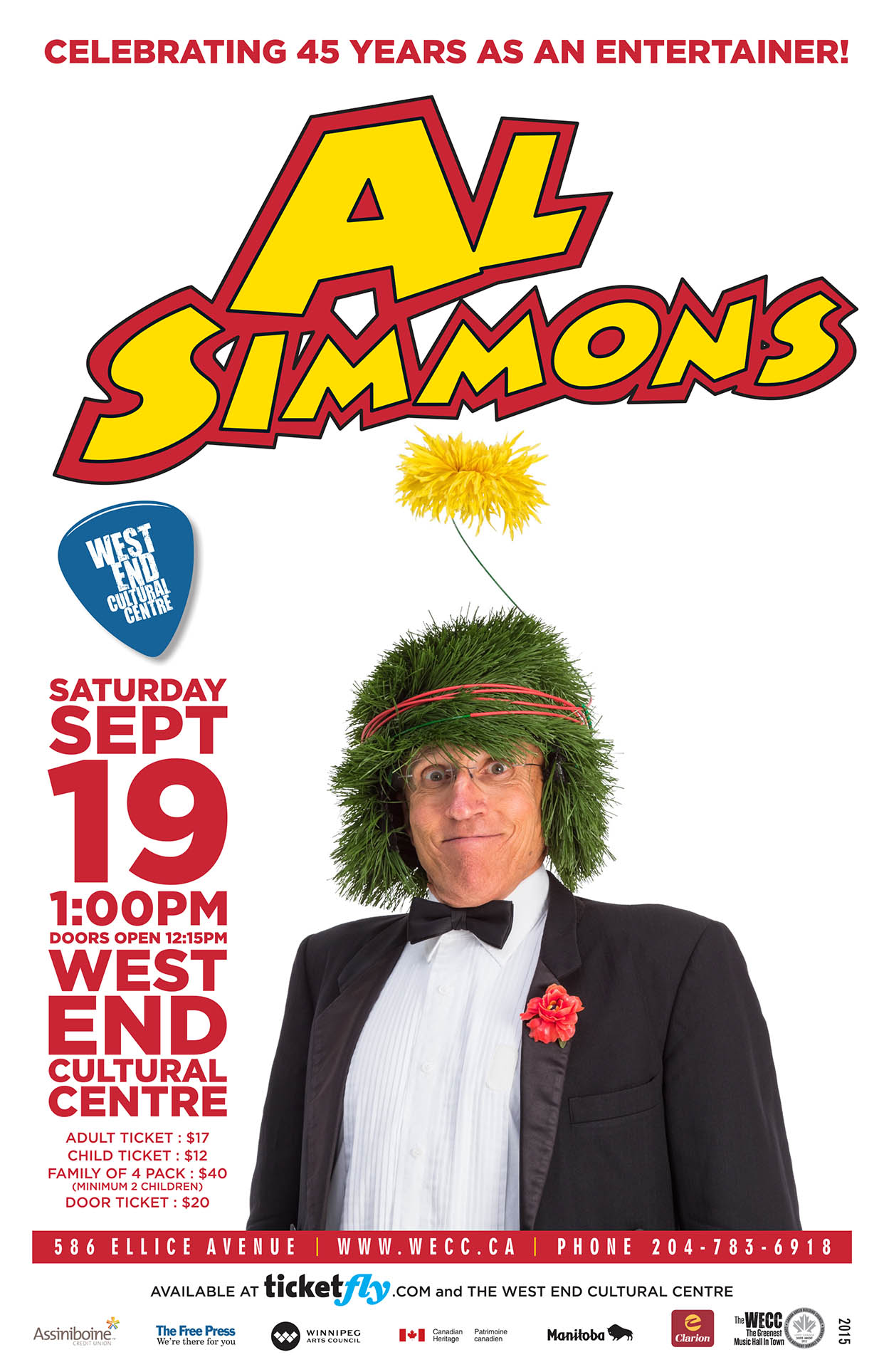 Al Simmons - 2015