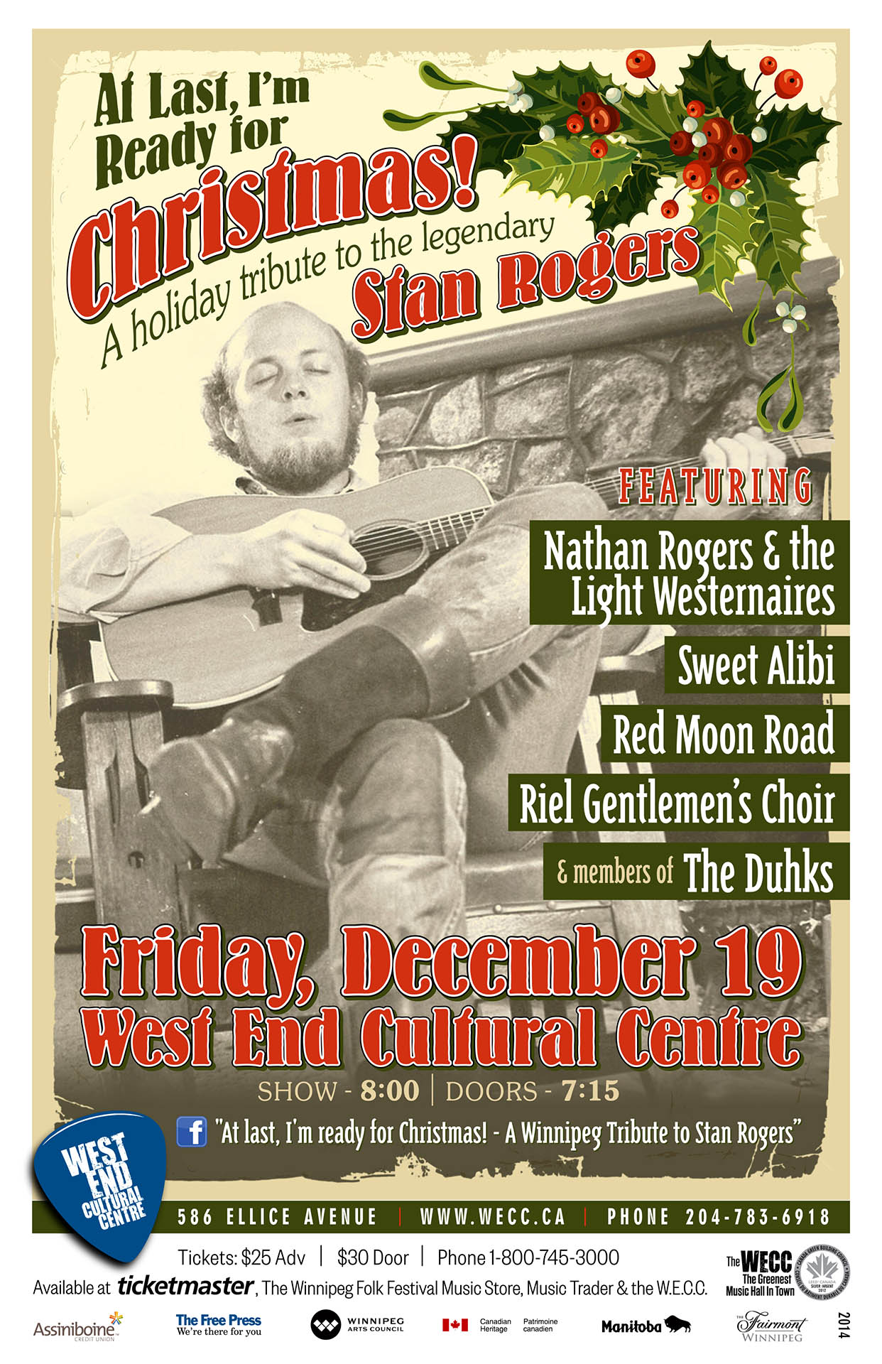 A Holiday Tribute To The Legendary Stan Rogers – 2014