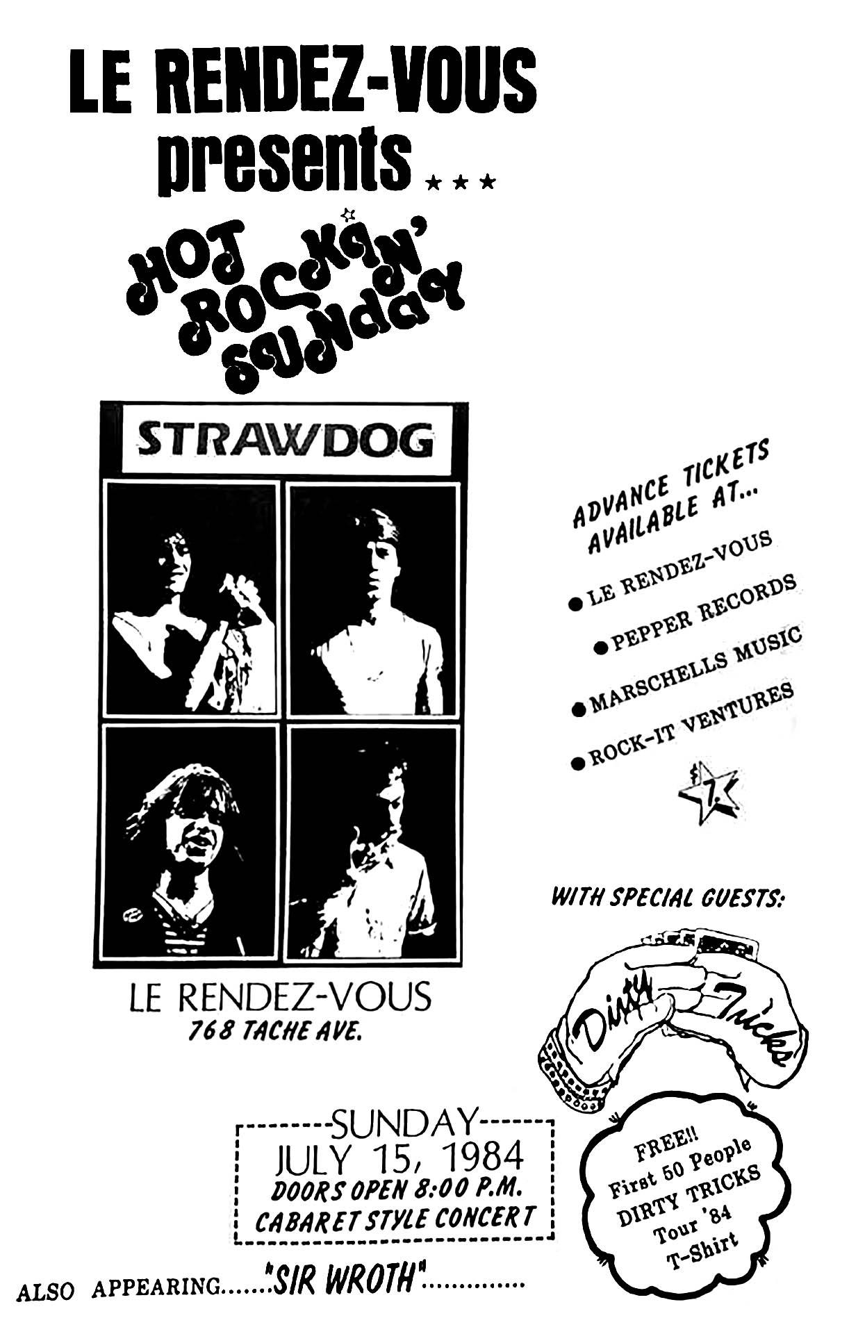 STRAW DOGS – 1984