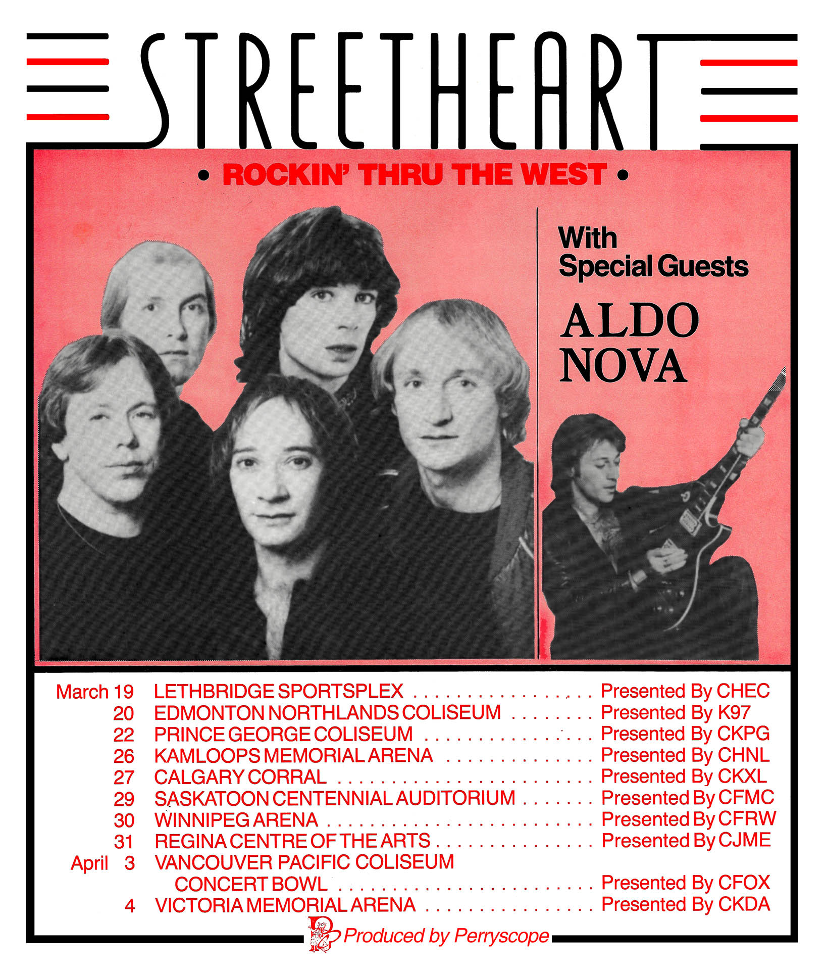 STREETHEART – 1982