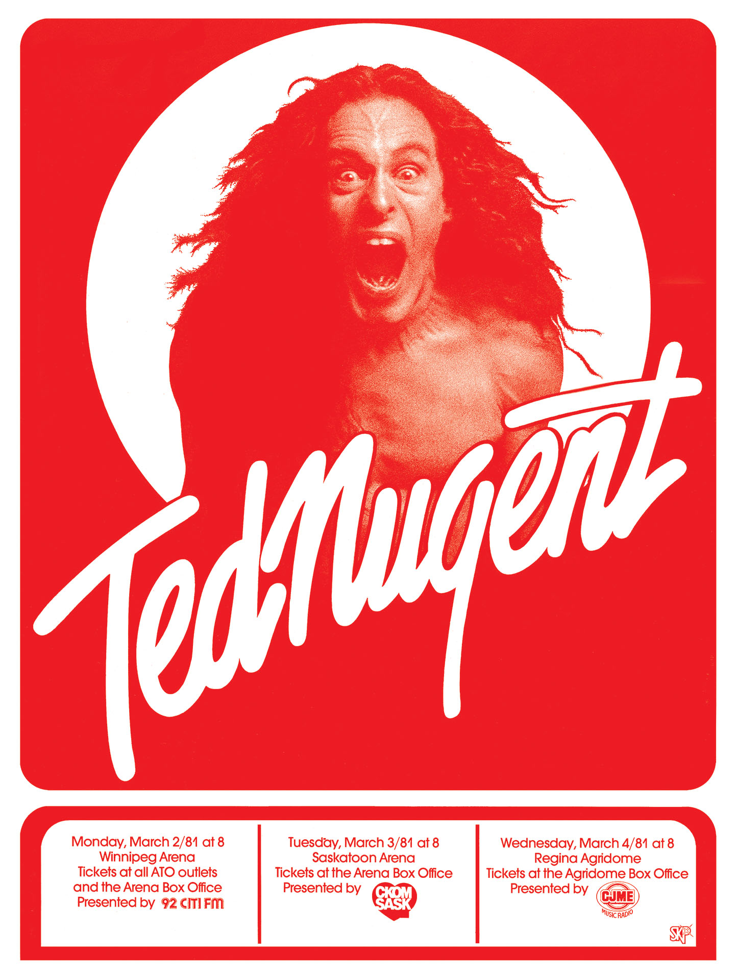 TED NUGENT – 1981