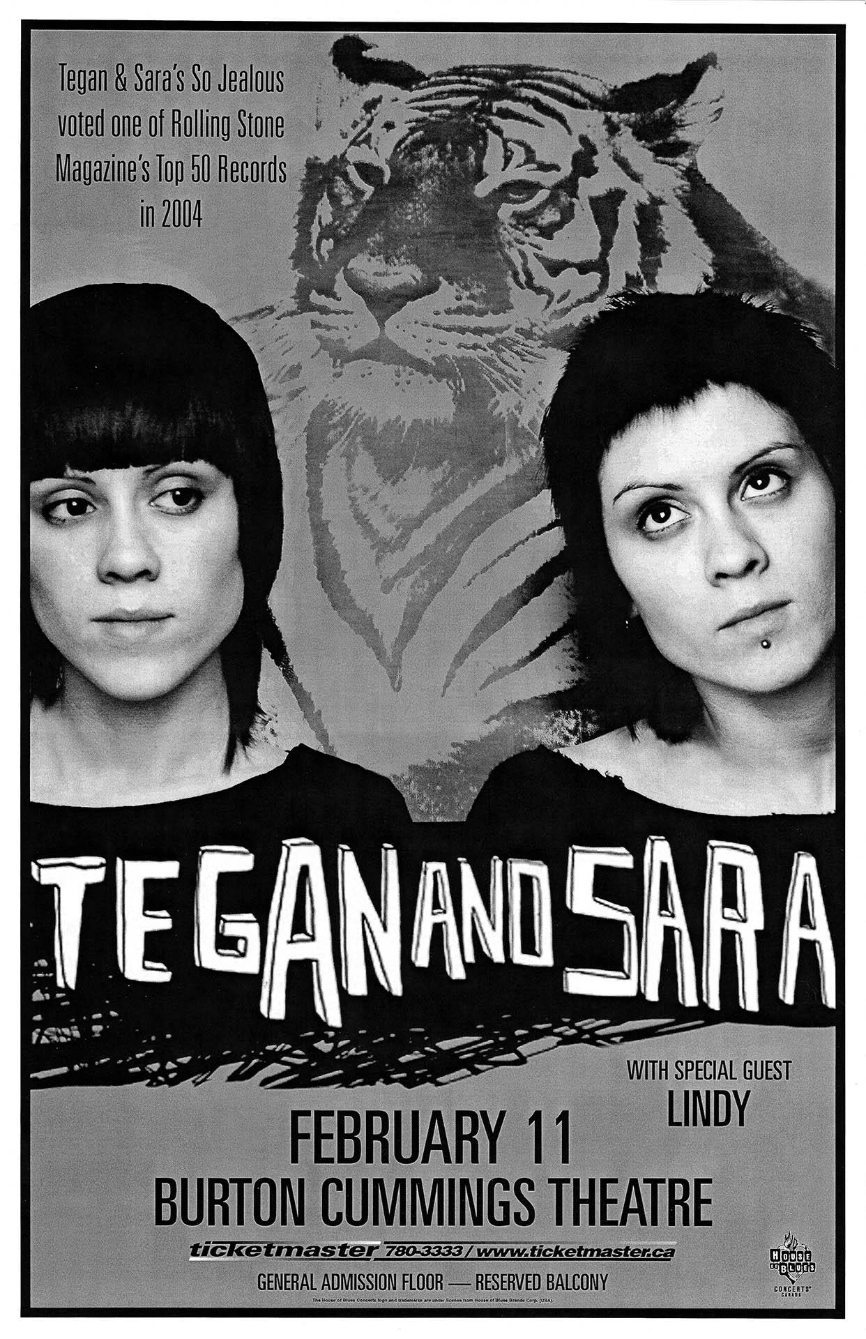 TEGAN & SARA – 2004