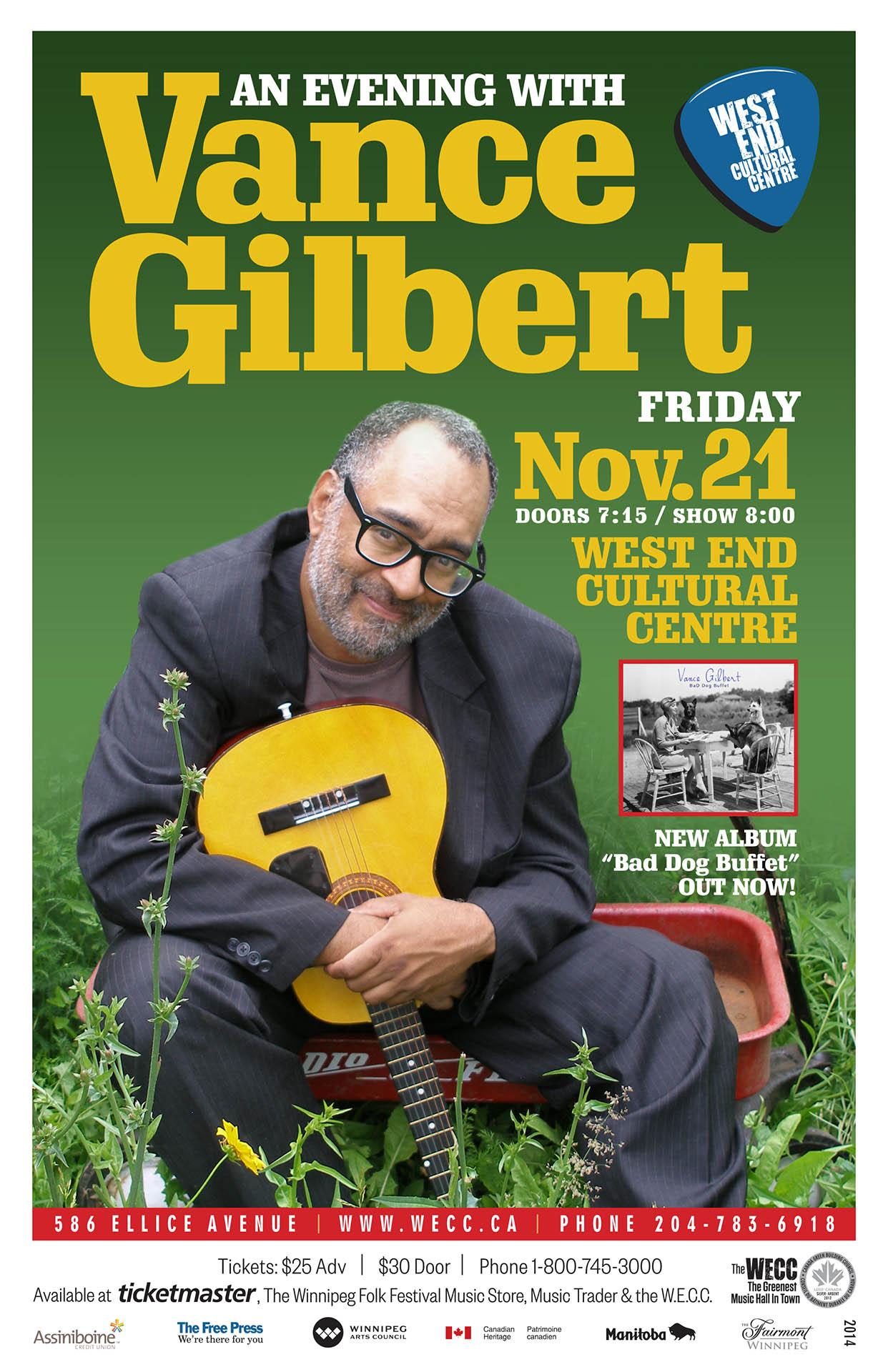 Vance Gilbert – 2014