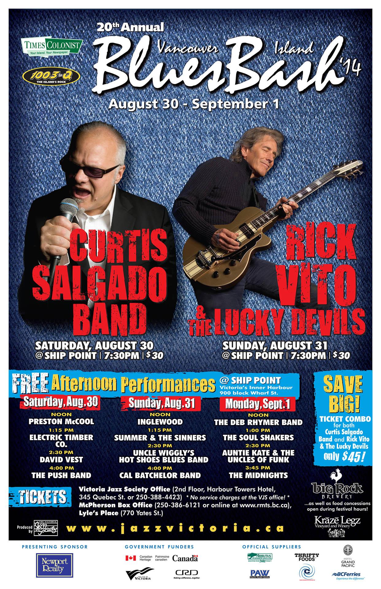 Vancouver Island Blues Bash - 2014