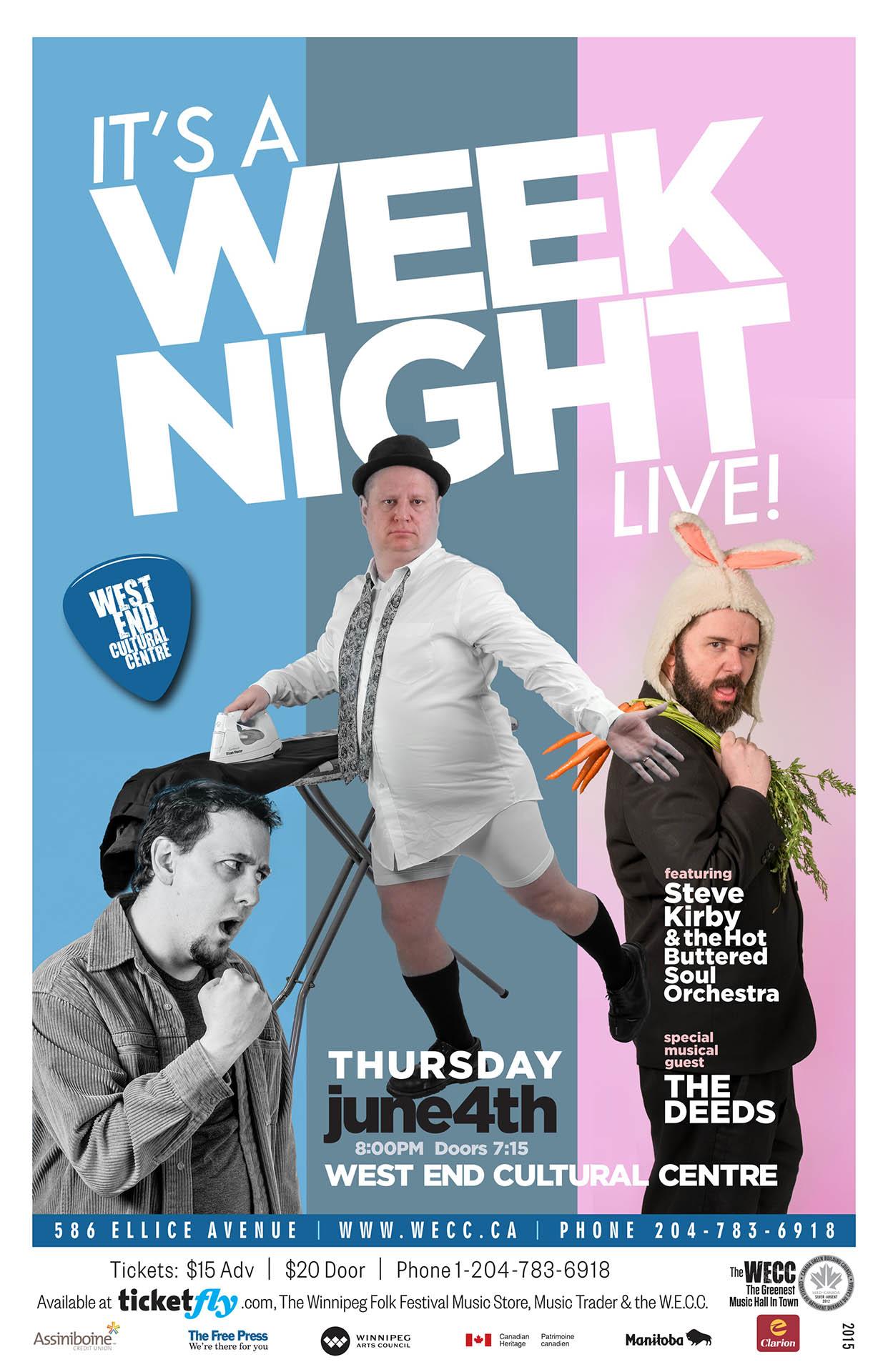 It's A Weeknight Live – 2015