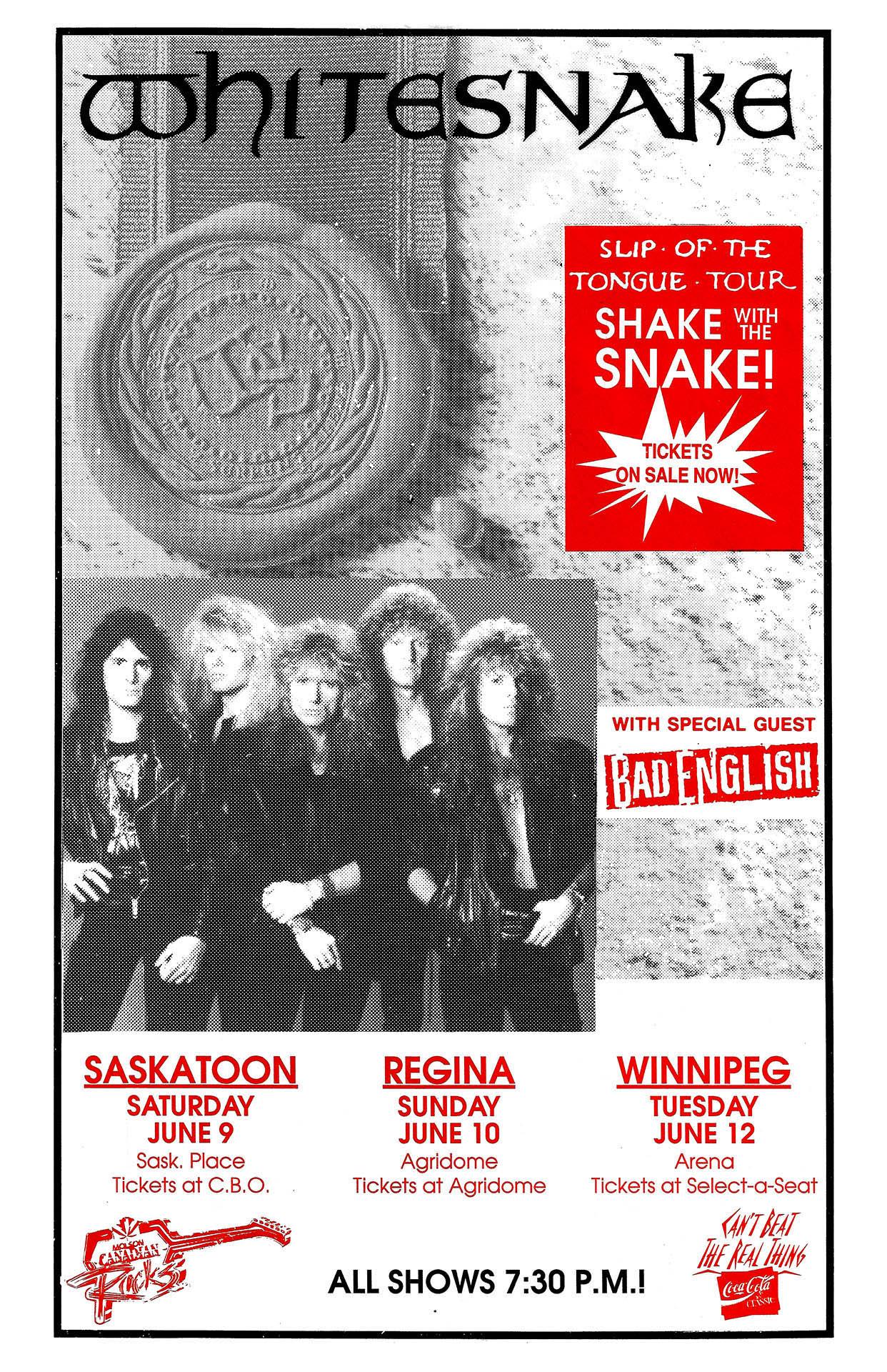 WHITESNAKE – 1990