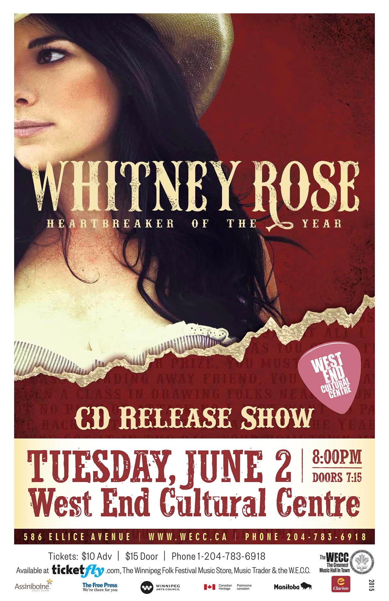 Whitney Rose – 2015