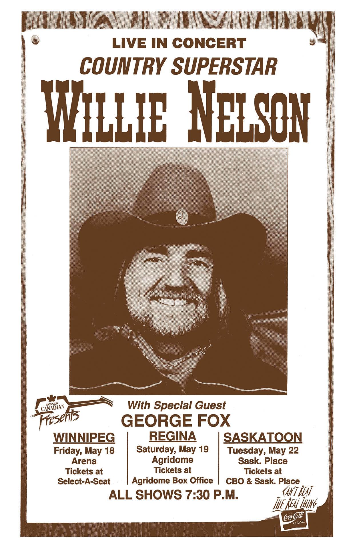 WILLIE NELSON – 1990