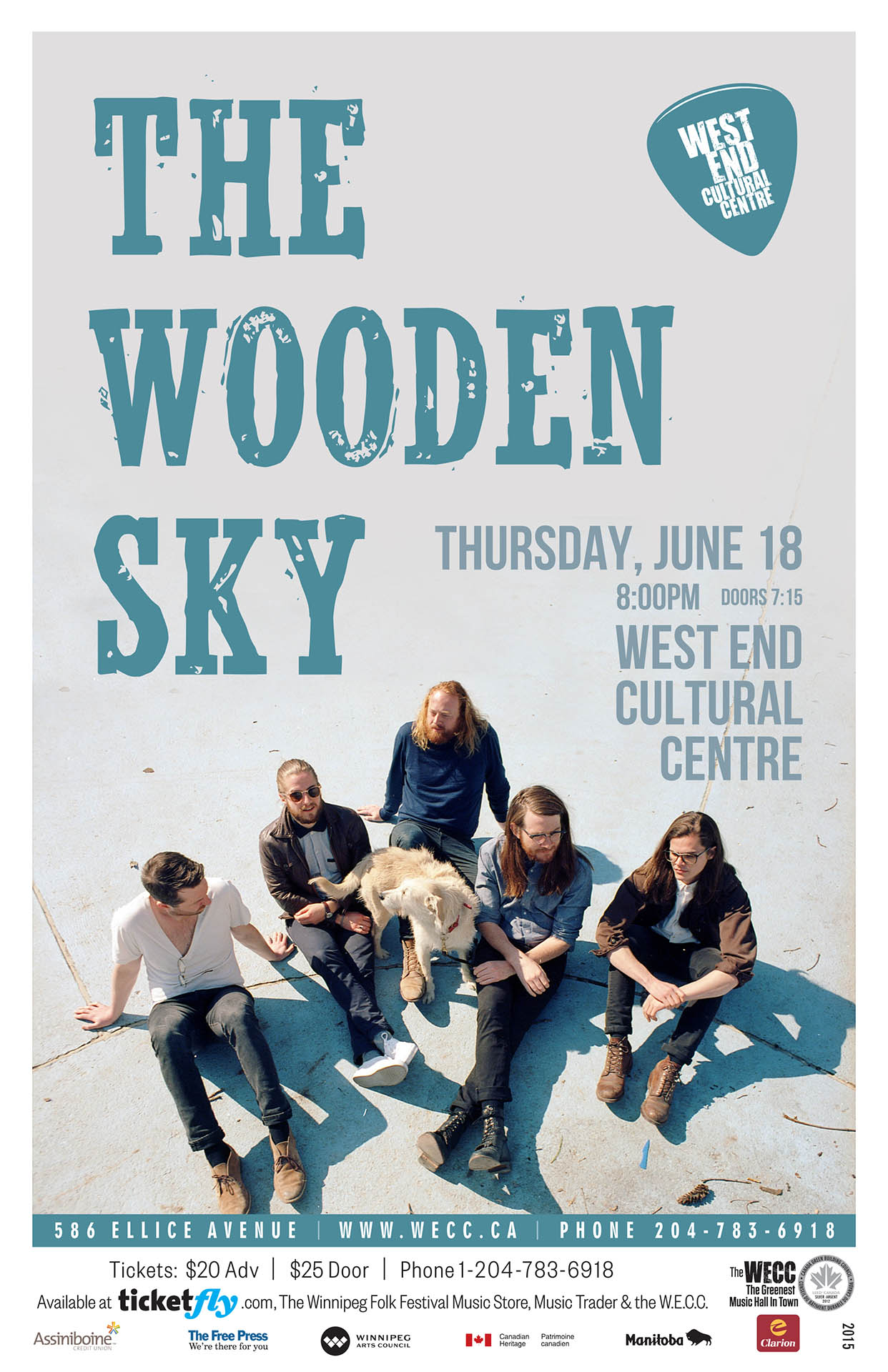 The Wooden Sky – 2015