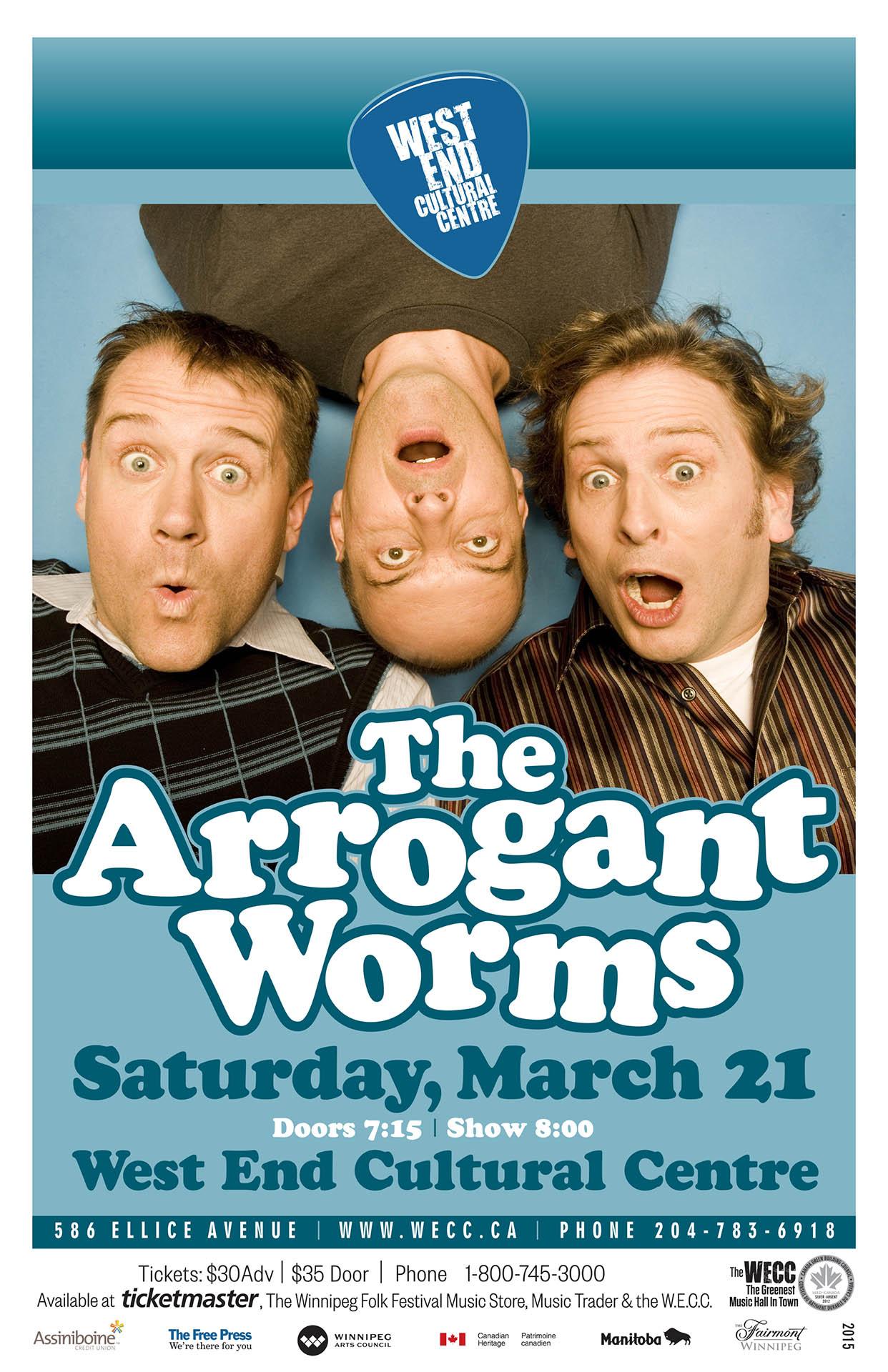 The Arrogant Worms – 2015