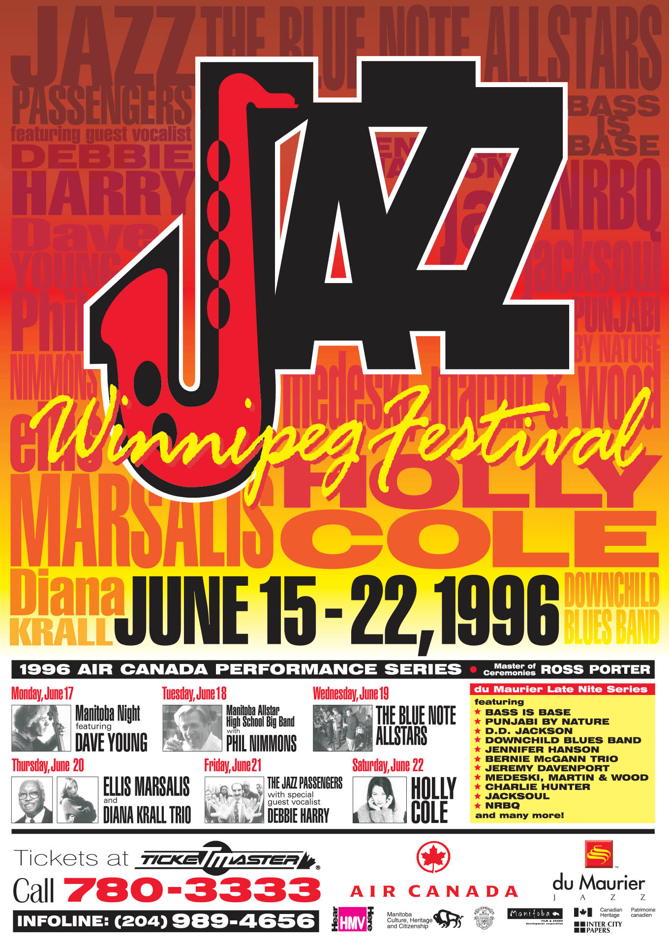 JAZZ WINNIPEG FESTIVAL – 1996