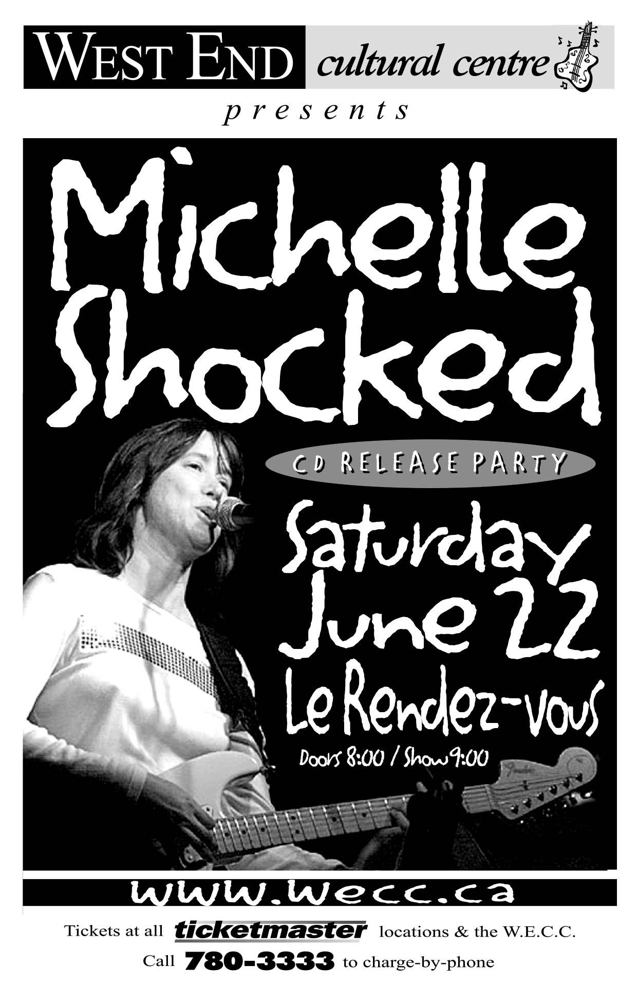 MICHELLE SHOCKED – 2002