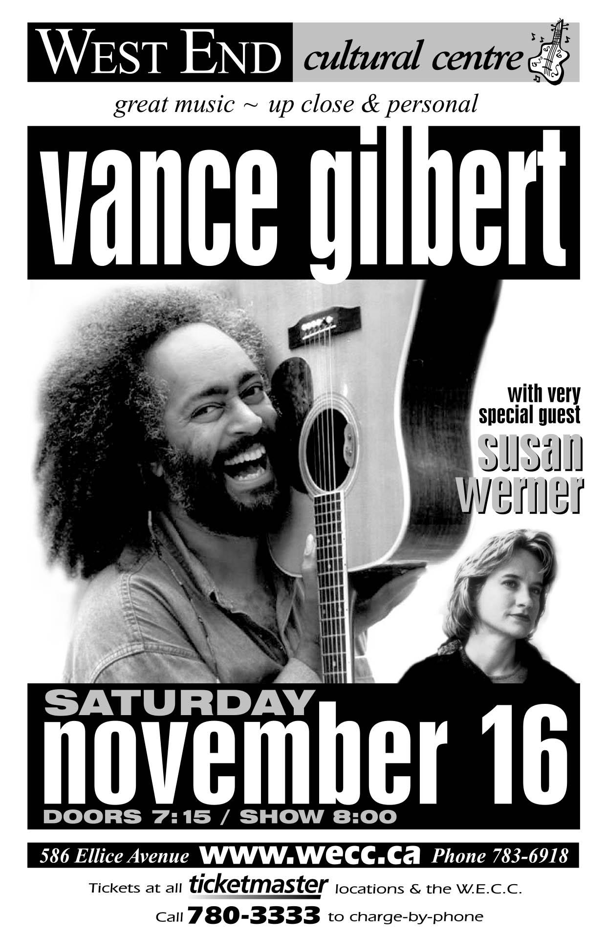 VANCE GILBERT – 2002