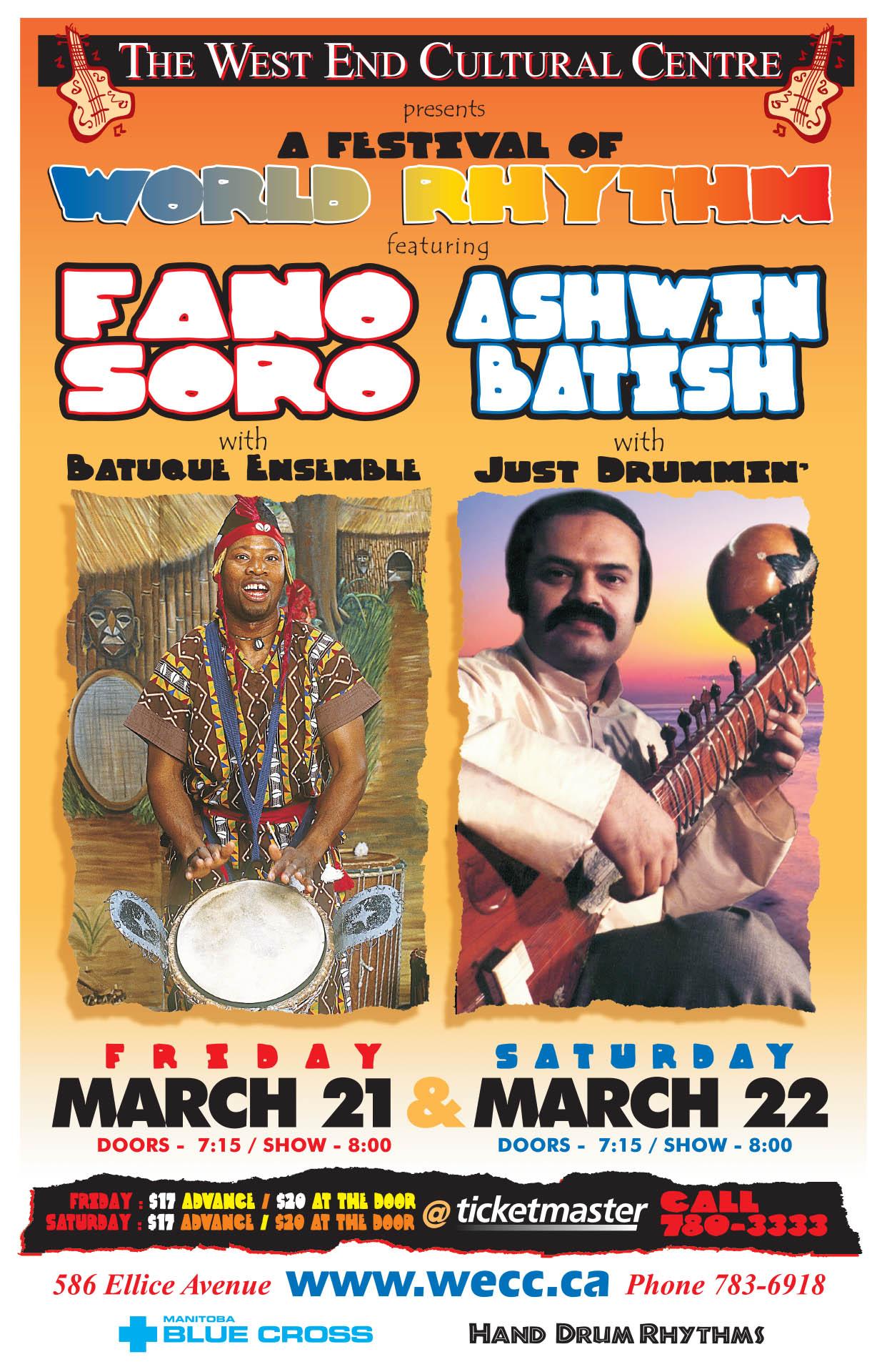 FANO SORO & ASHWIN BATISH – 2003