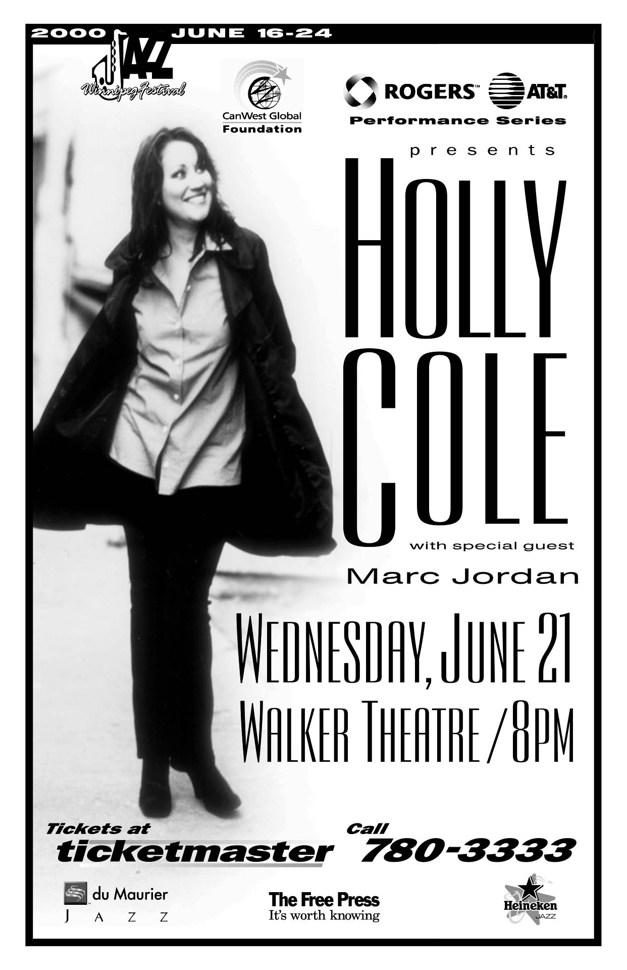 HOLLY COLE – 2000
