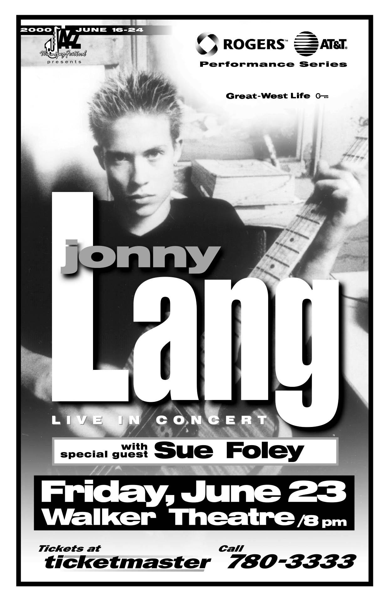 JONNY LANG – 2000