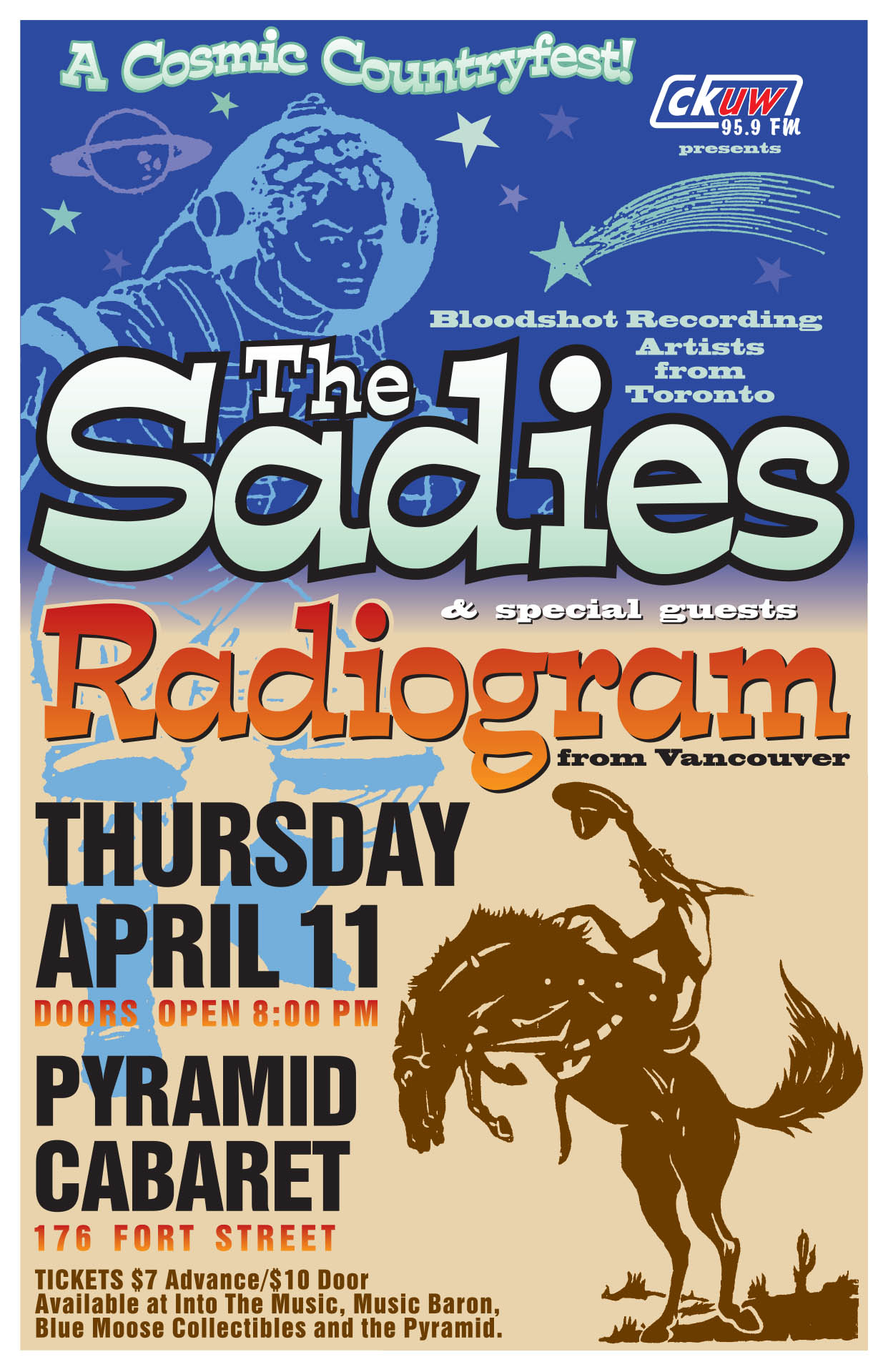 THE SADIES & RADIOGRAM – 2002