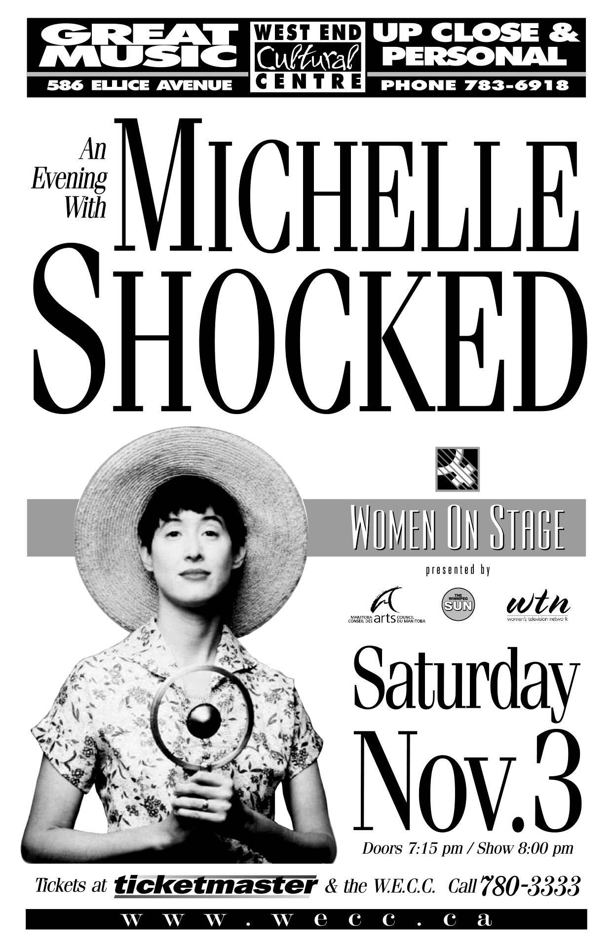 MICHELLE SHOCKED – 2001