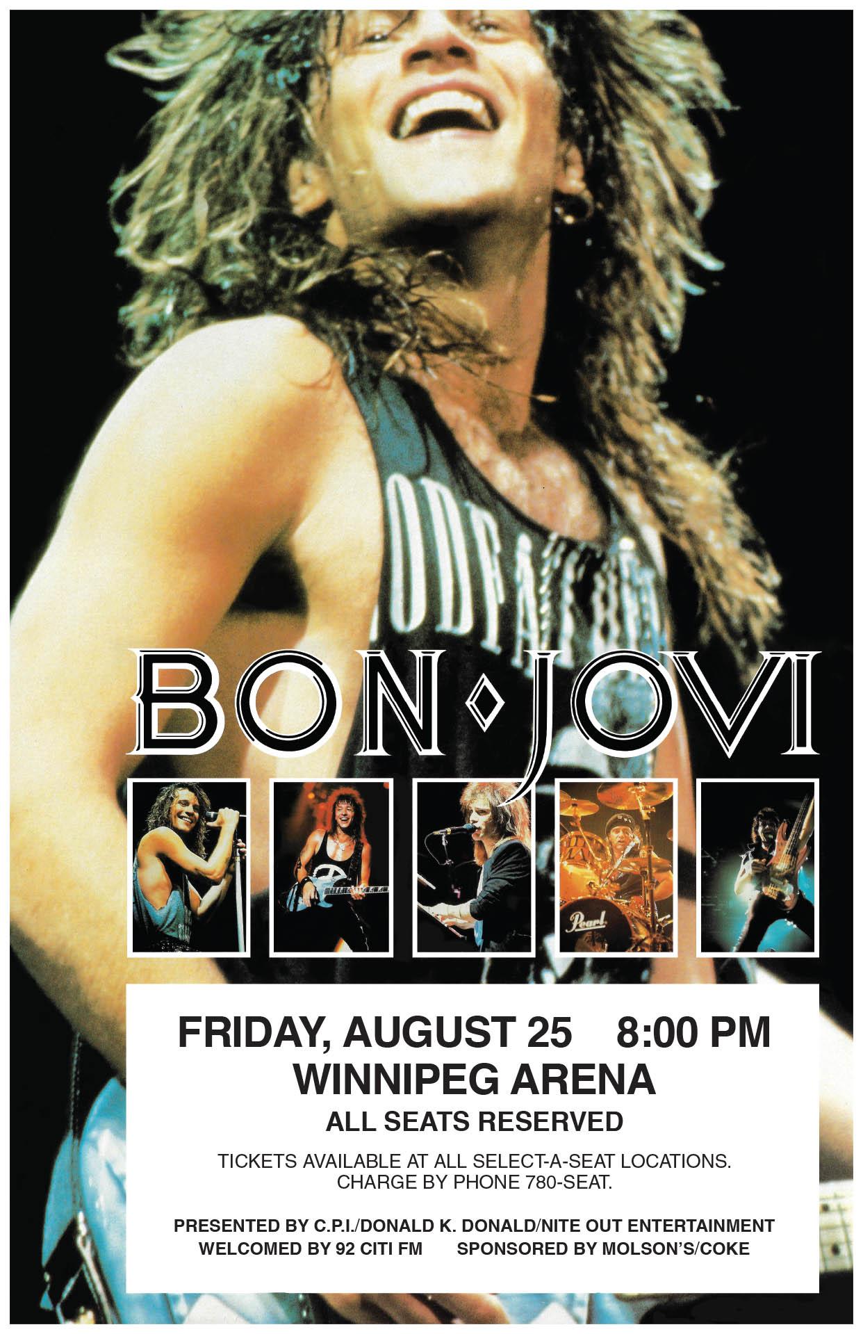 BON JOVI – 1989