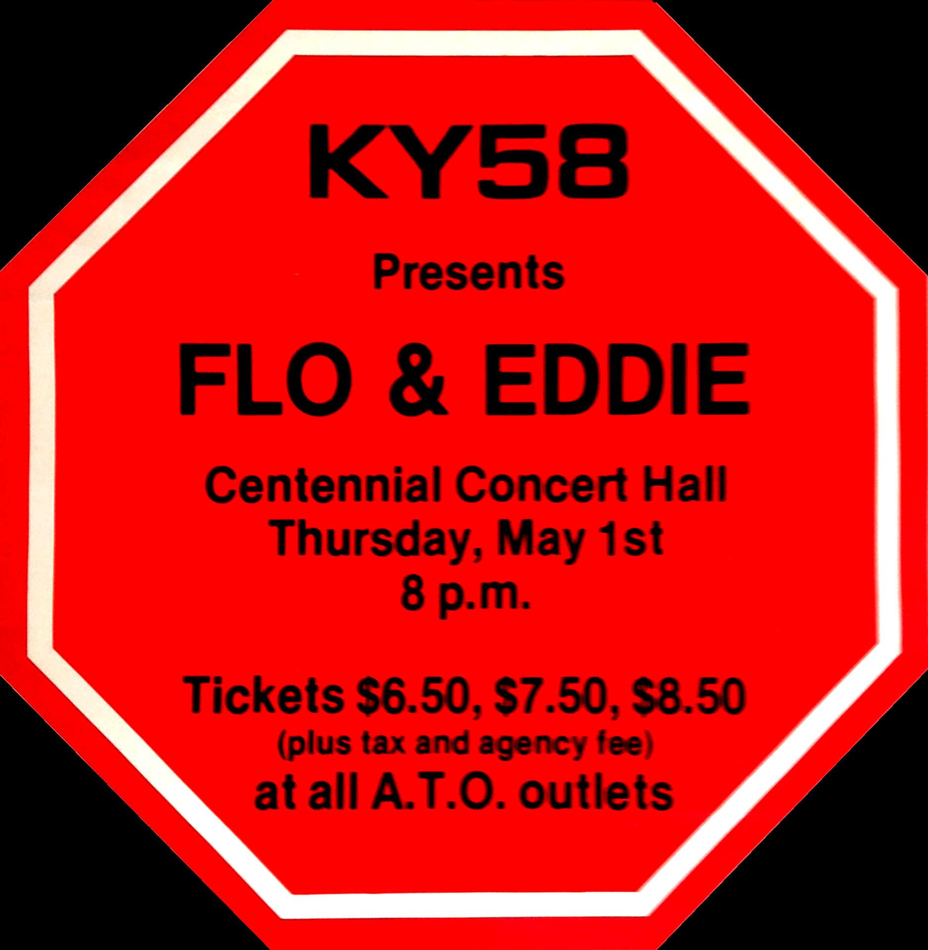 FLO & EDDIE – 1980
