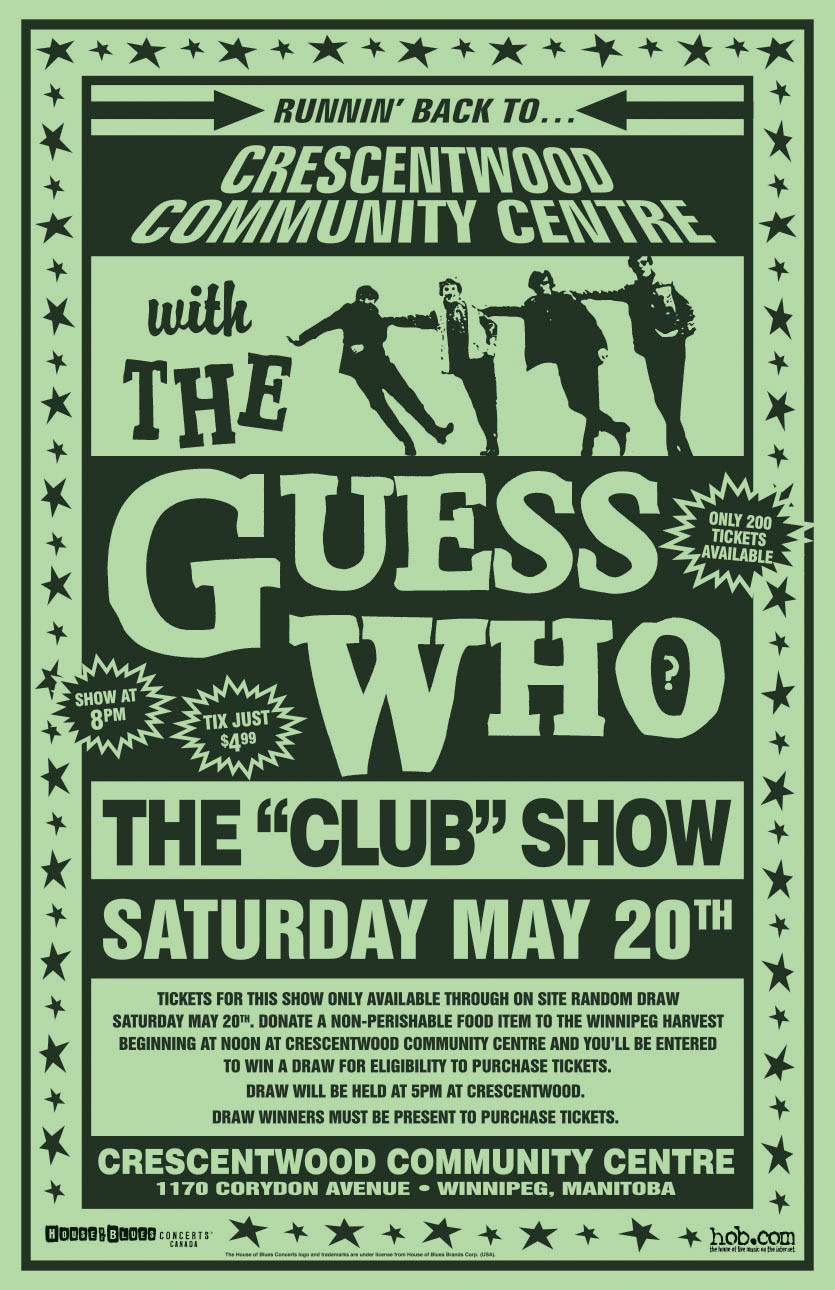 THE GUESS WHO – 2000