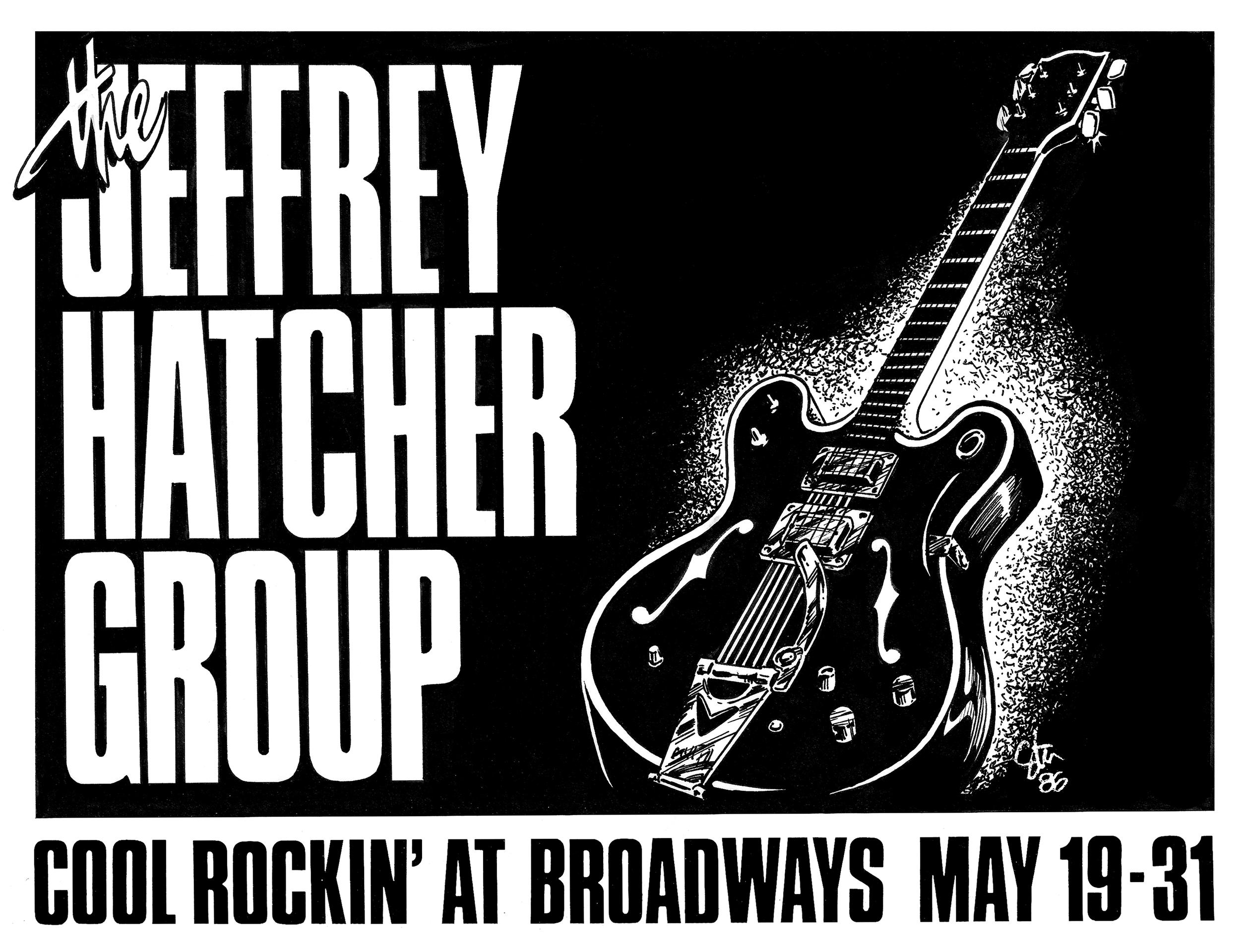 JEFFREY HATCHER GROUP – 1986