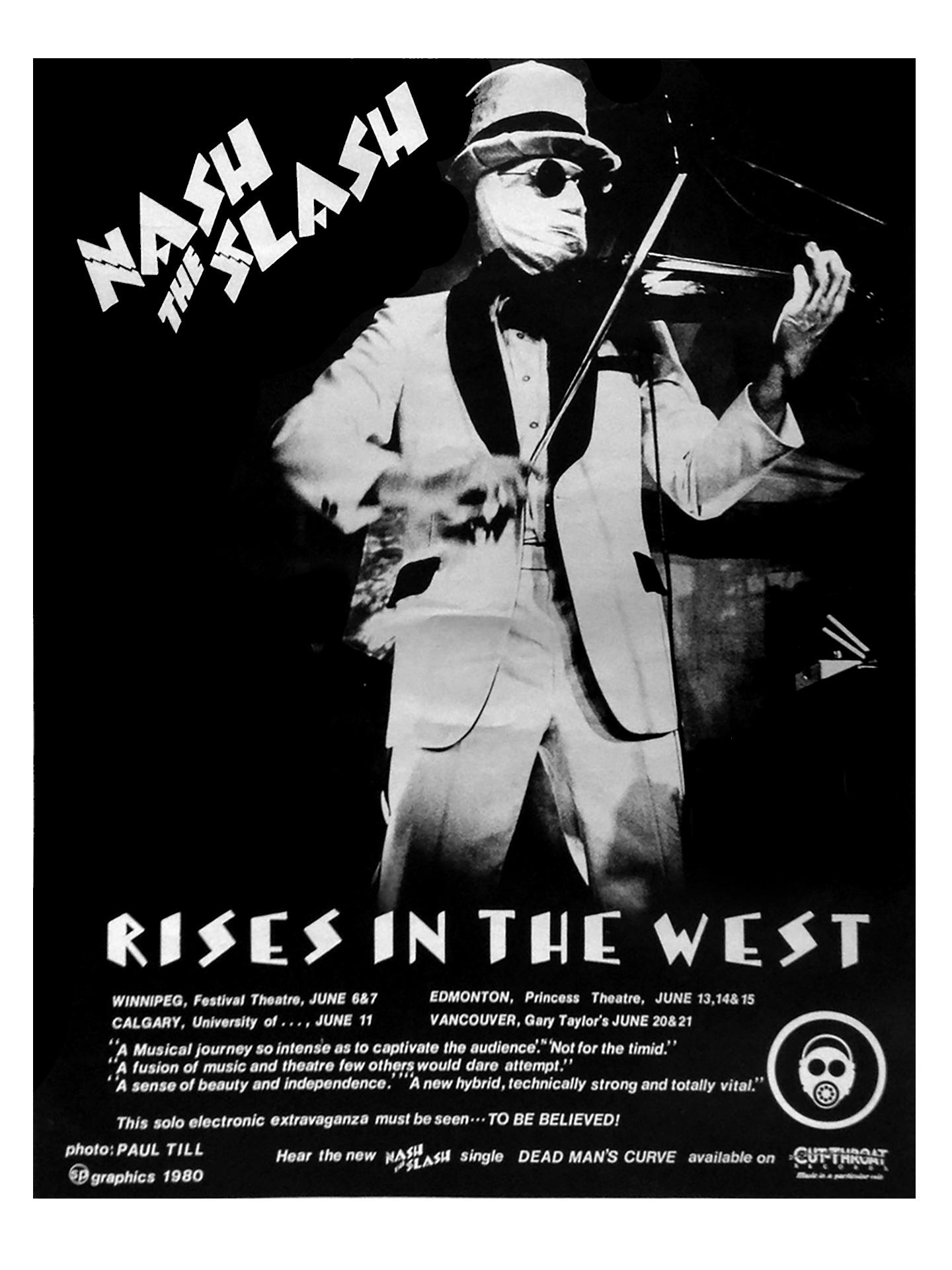 NASH THE SLASH – 1980