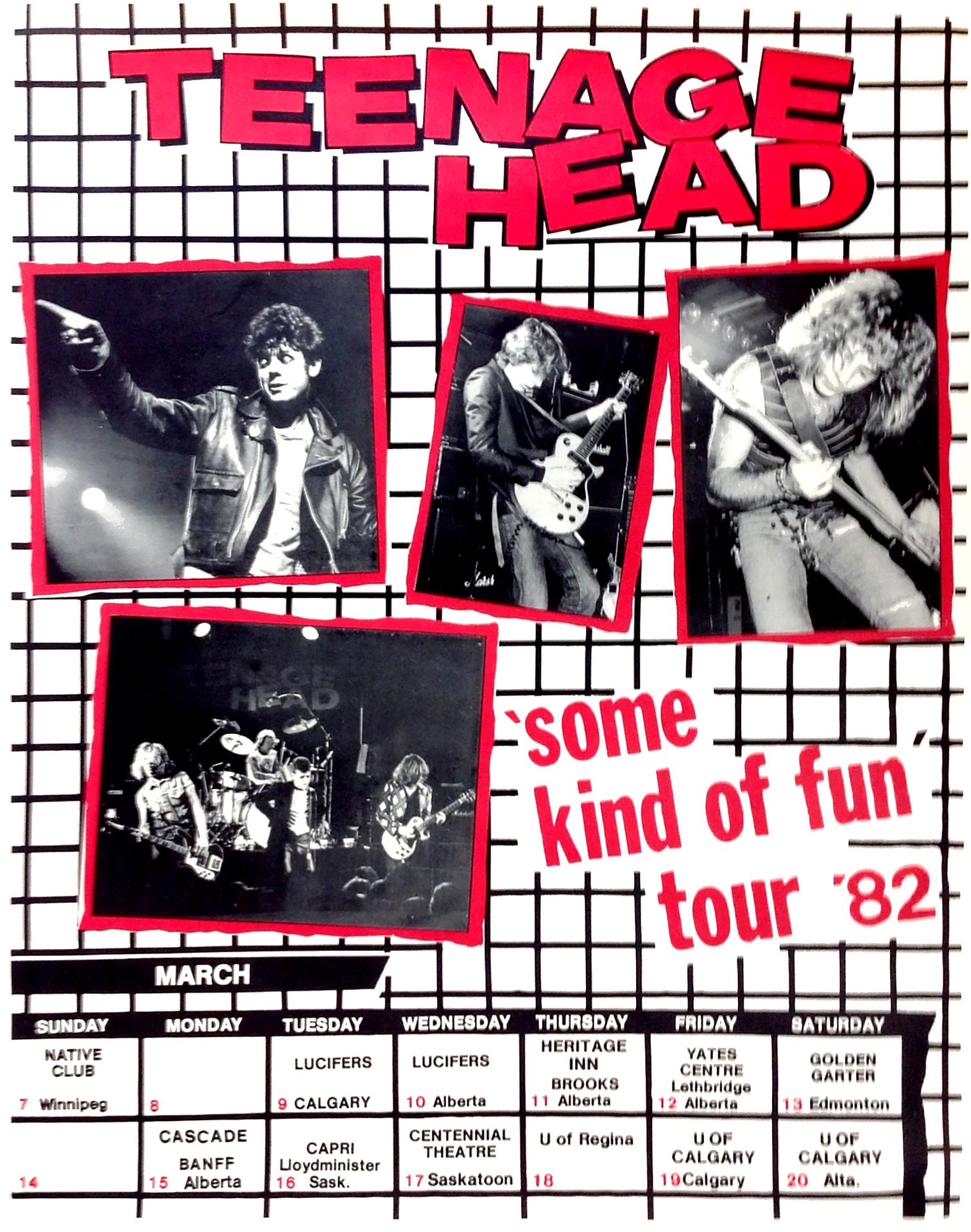 TEENAGE HEAD – 1982