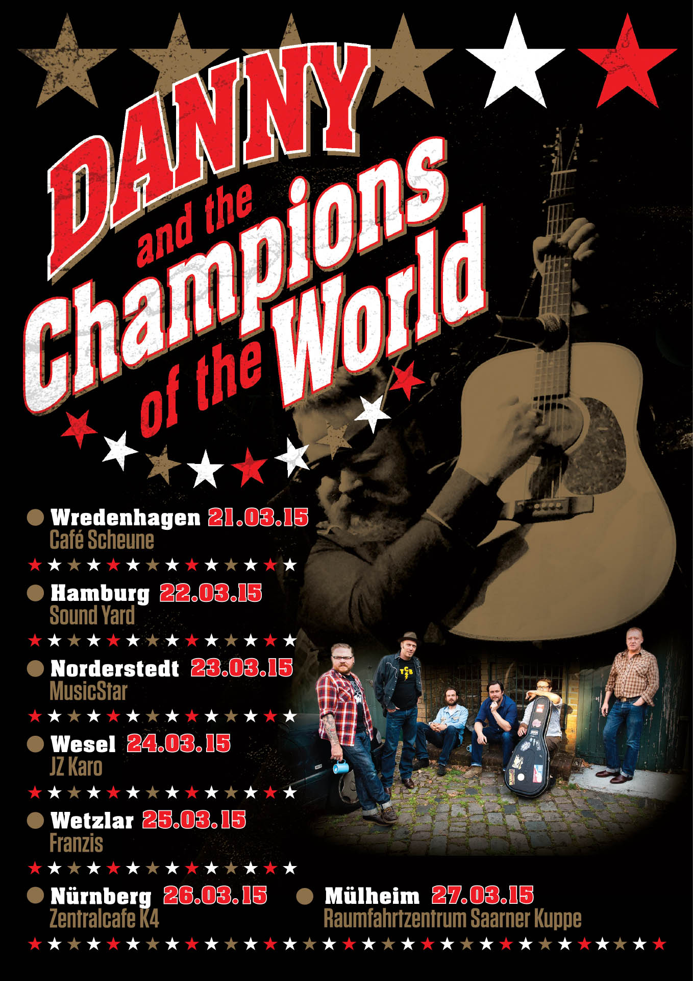Danny & the Champions of the World – 2015