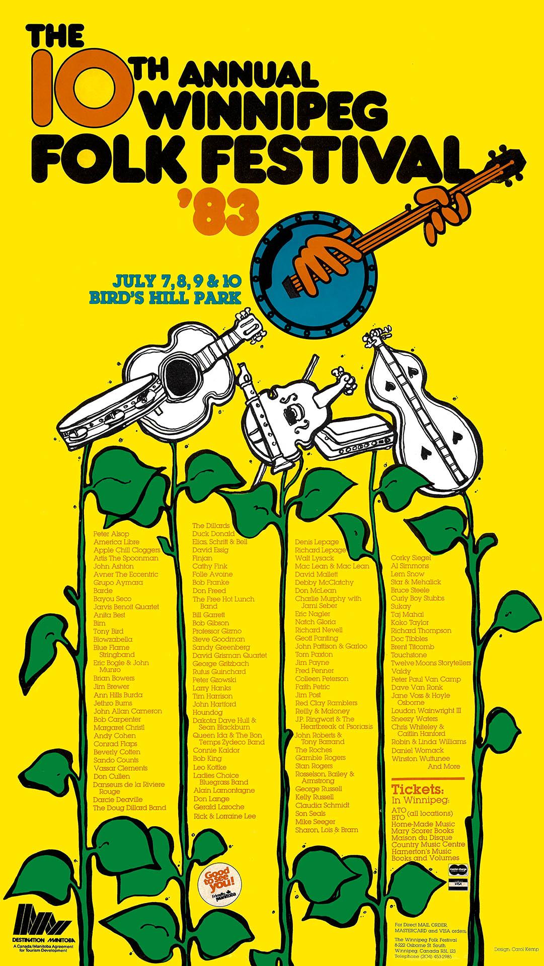Winnipeg Folk Festival – 1983