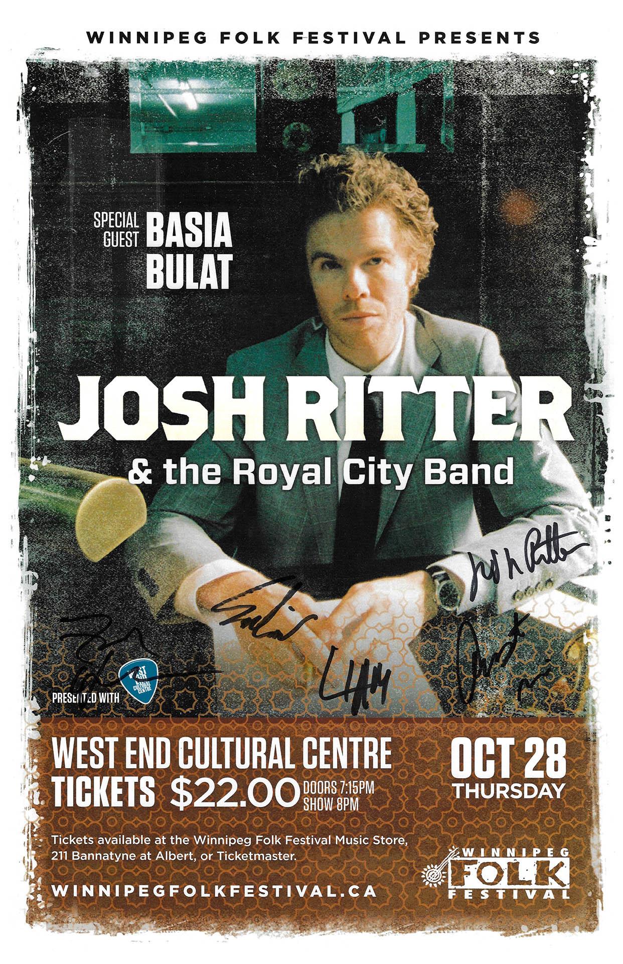 Josh Ritter – 2010