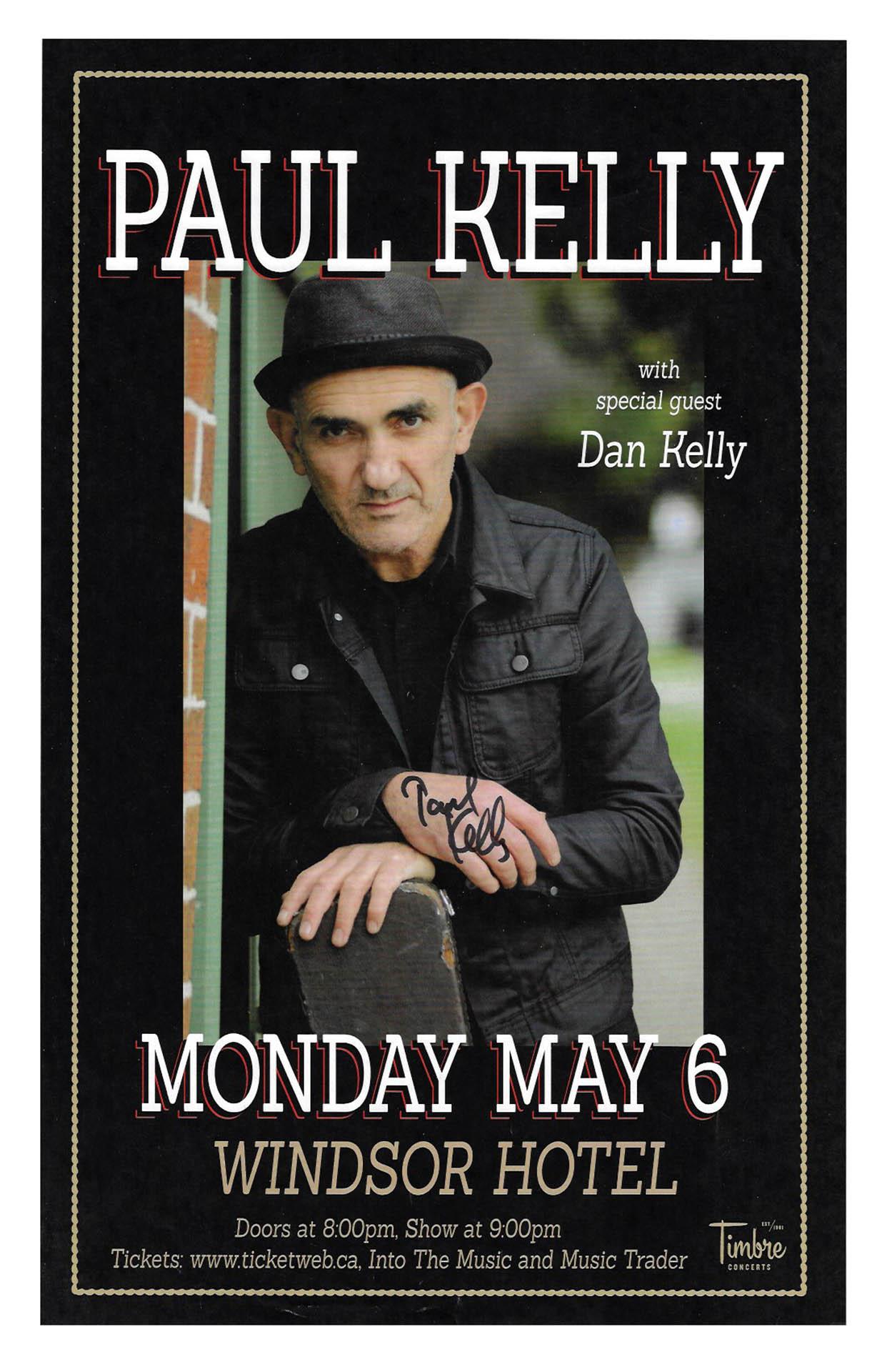 PAUL KELLY – 2013