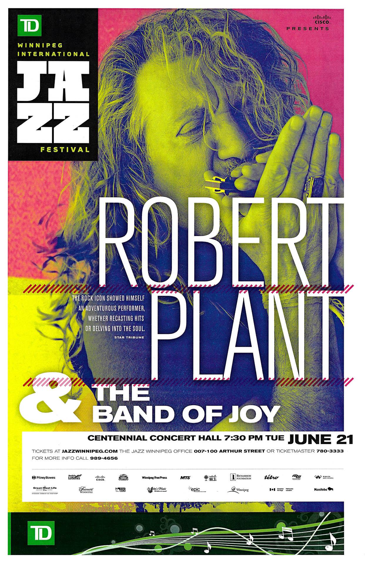 Robert Plant – 2011