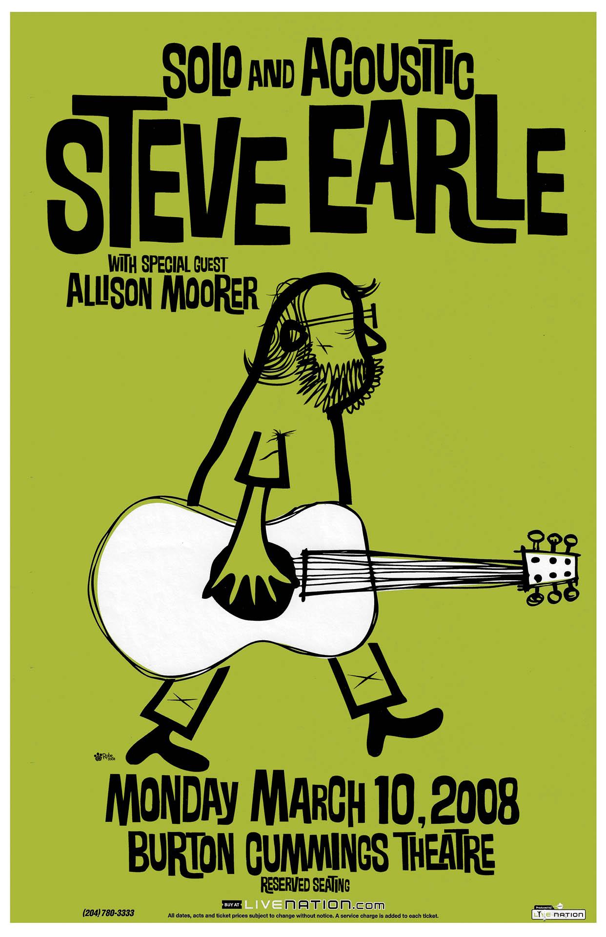 Steve Earle – 2008
