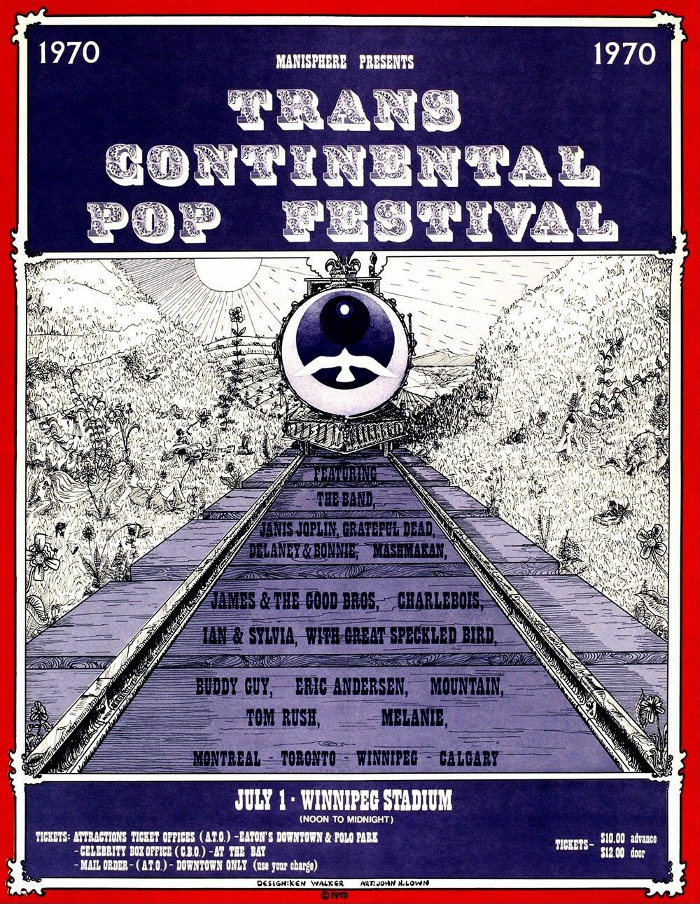 Trans Continental Pop Festival – 1970