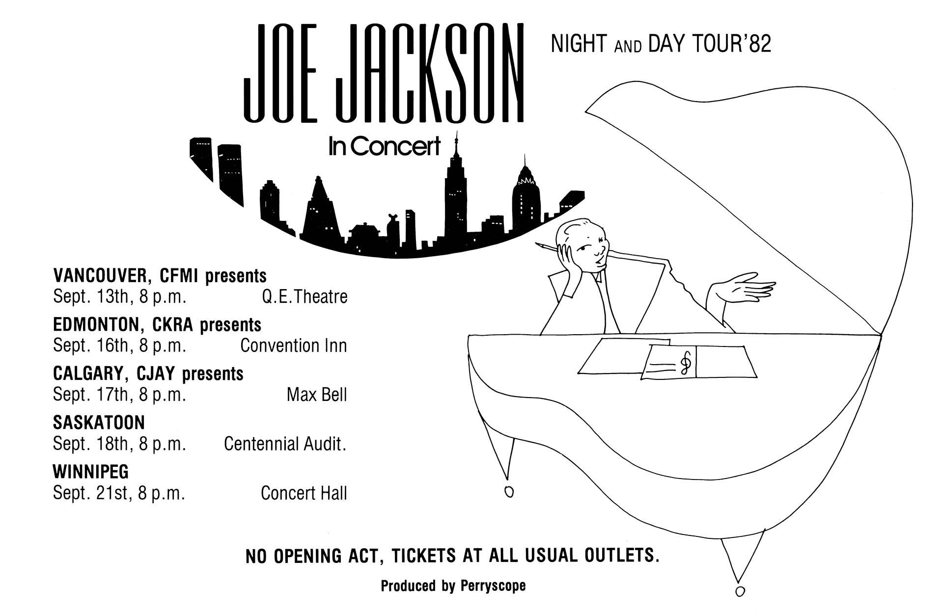 Joe Jackson – 1982