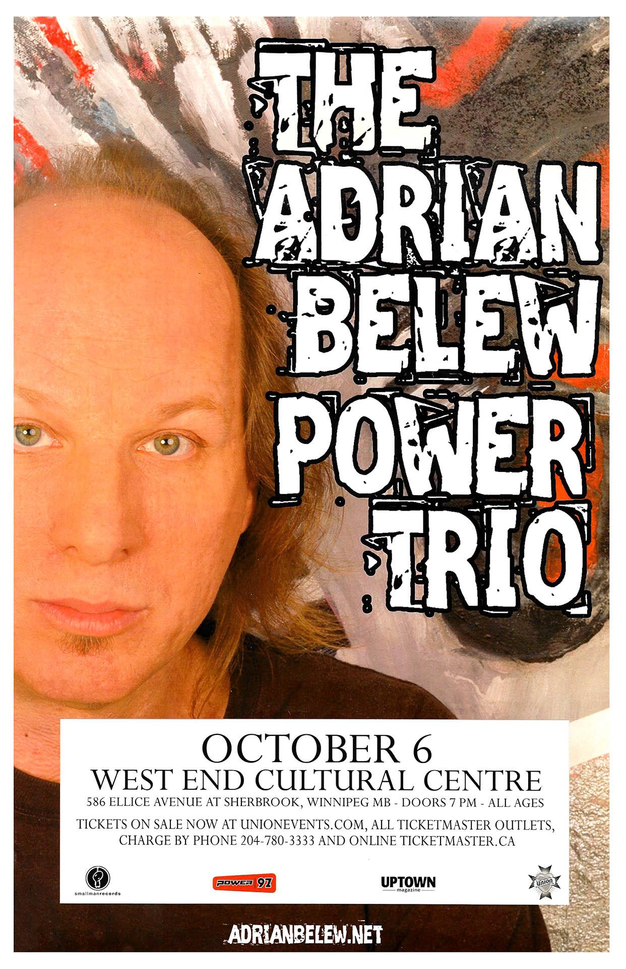 Adrian Belew – 2009