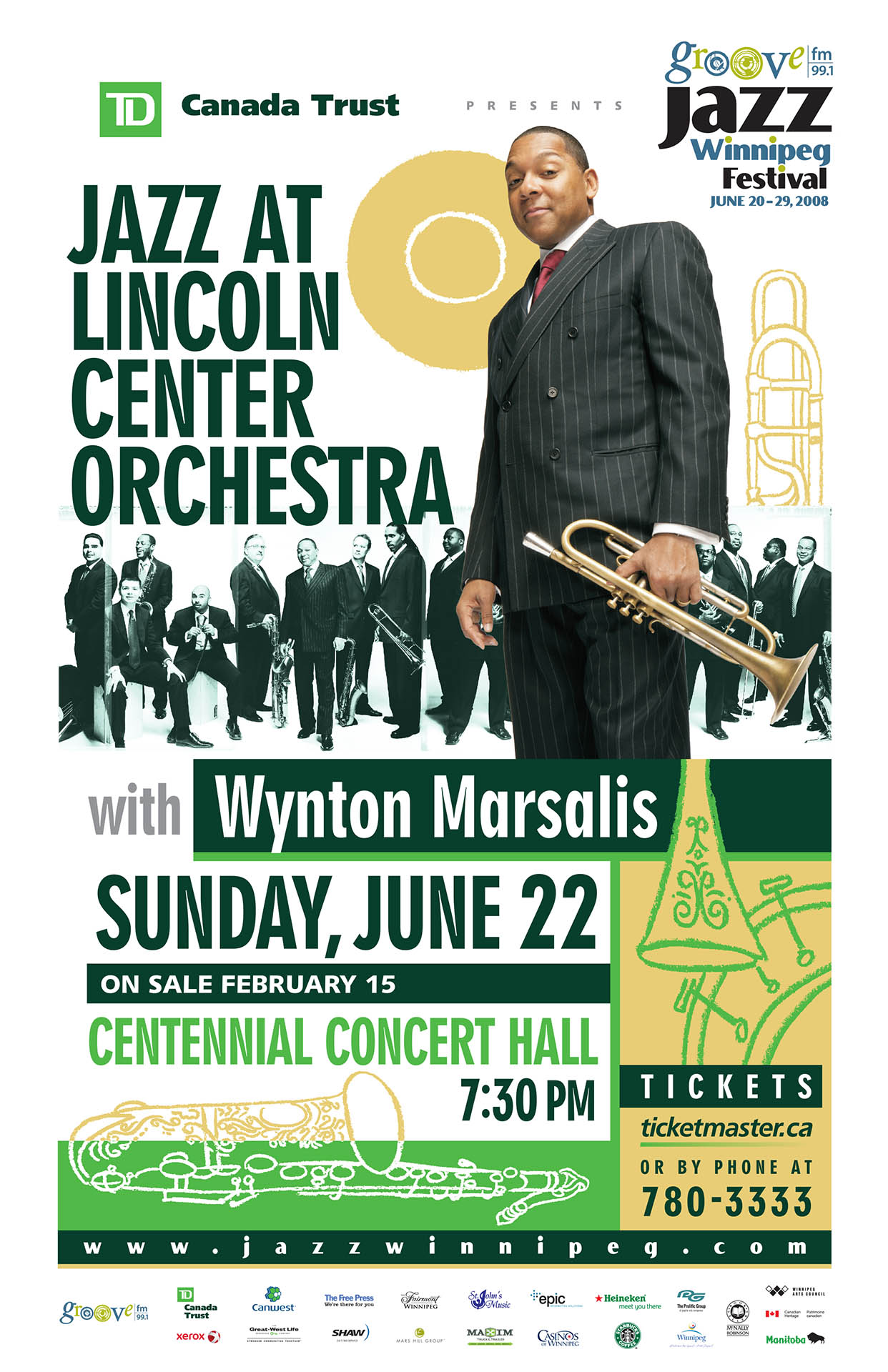 Jazz at Lincoln Center with Wynton Marsalis – 2008