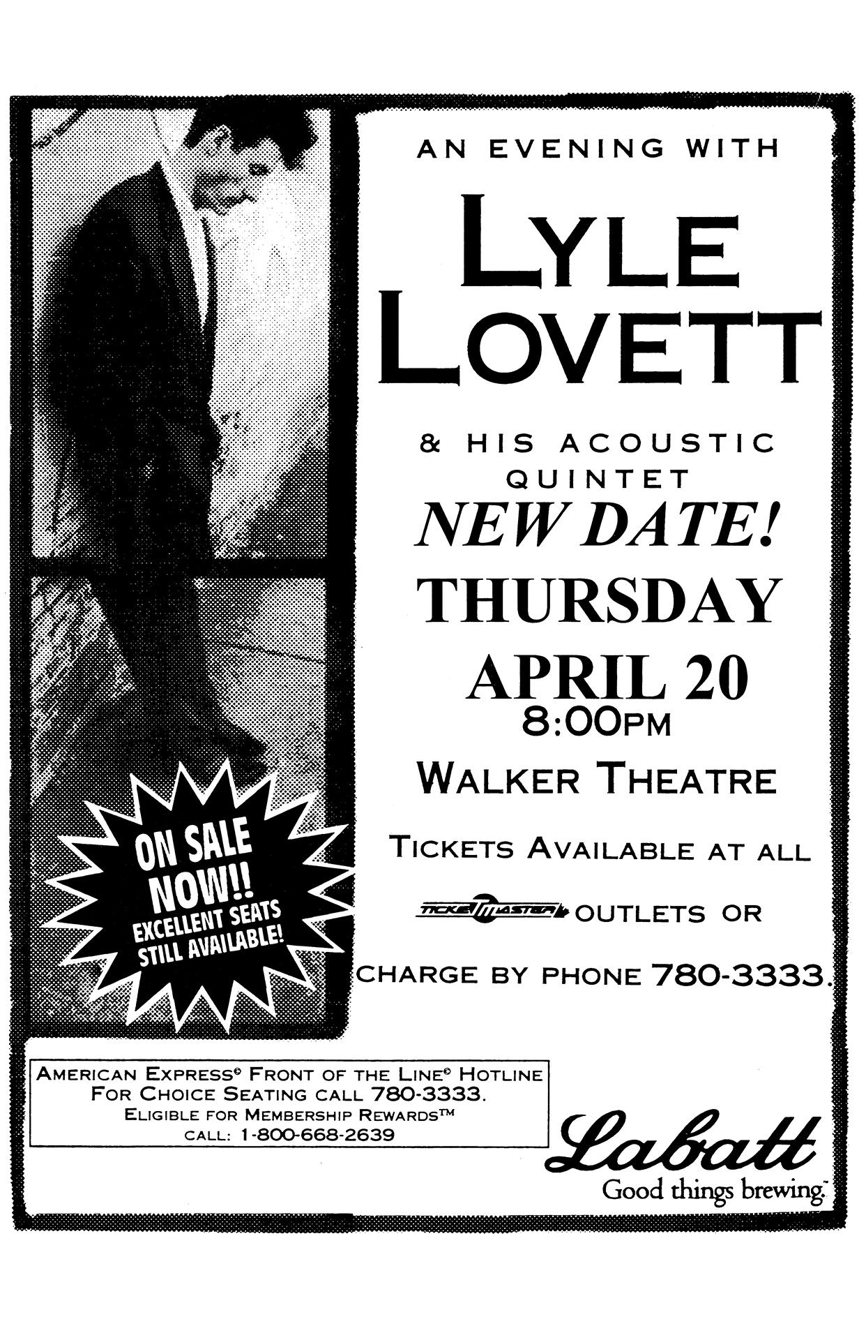 Lyle Lovett – 2000