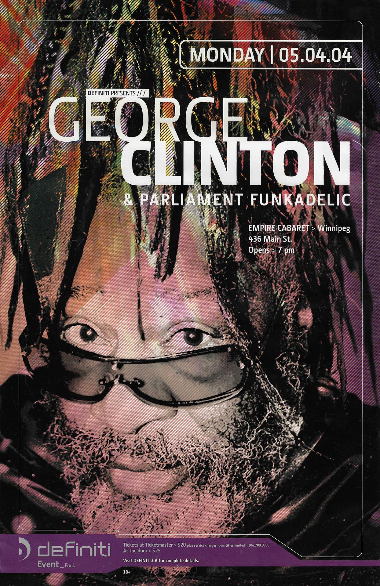 GEORGE CLINTON – 2004