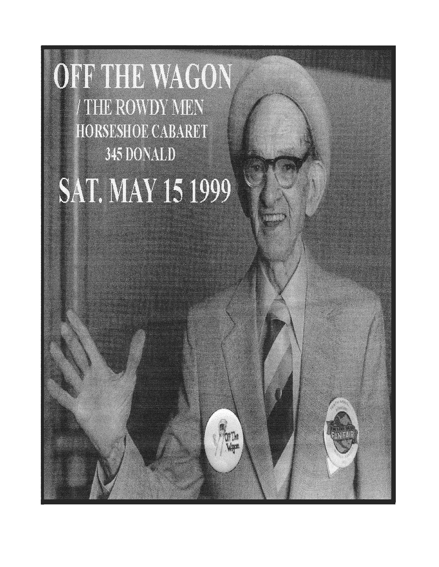 OFF THE WAGON – 1999 (1)