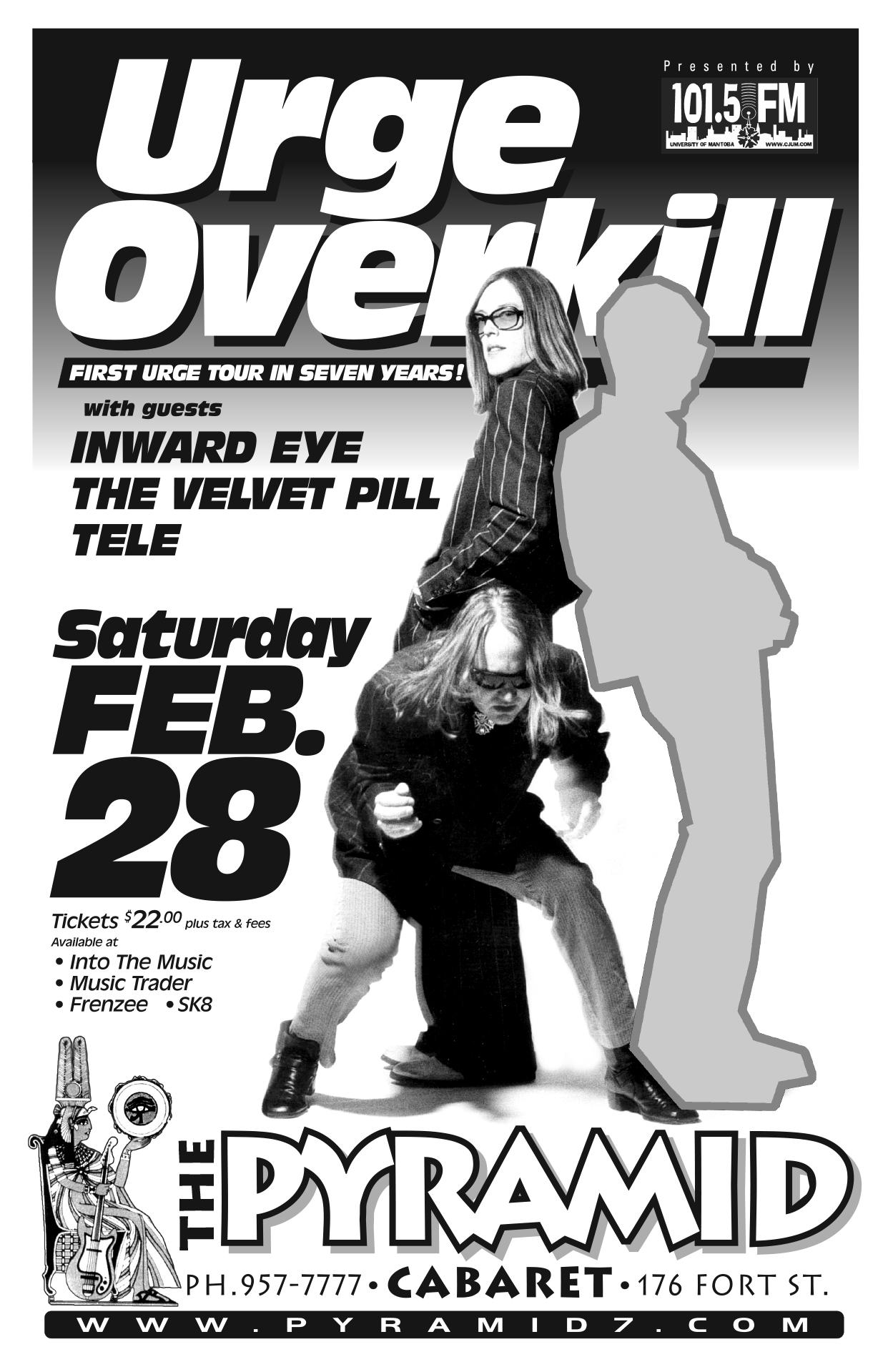 Urge Overkill – February 2004
